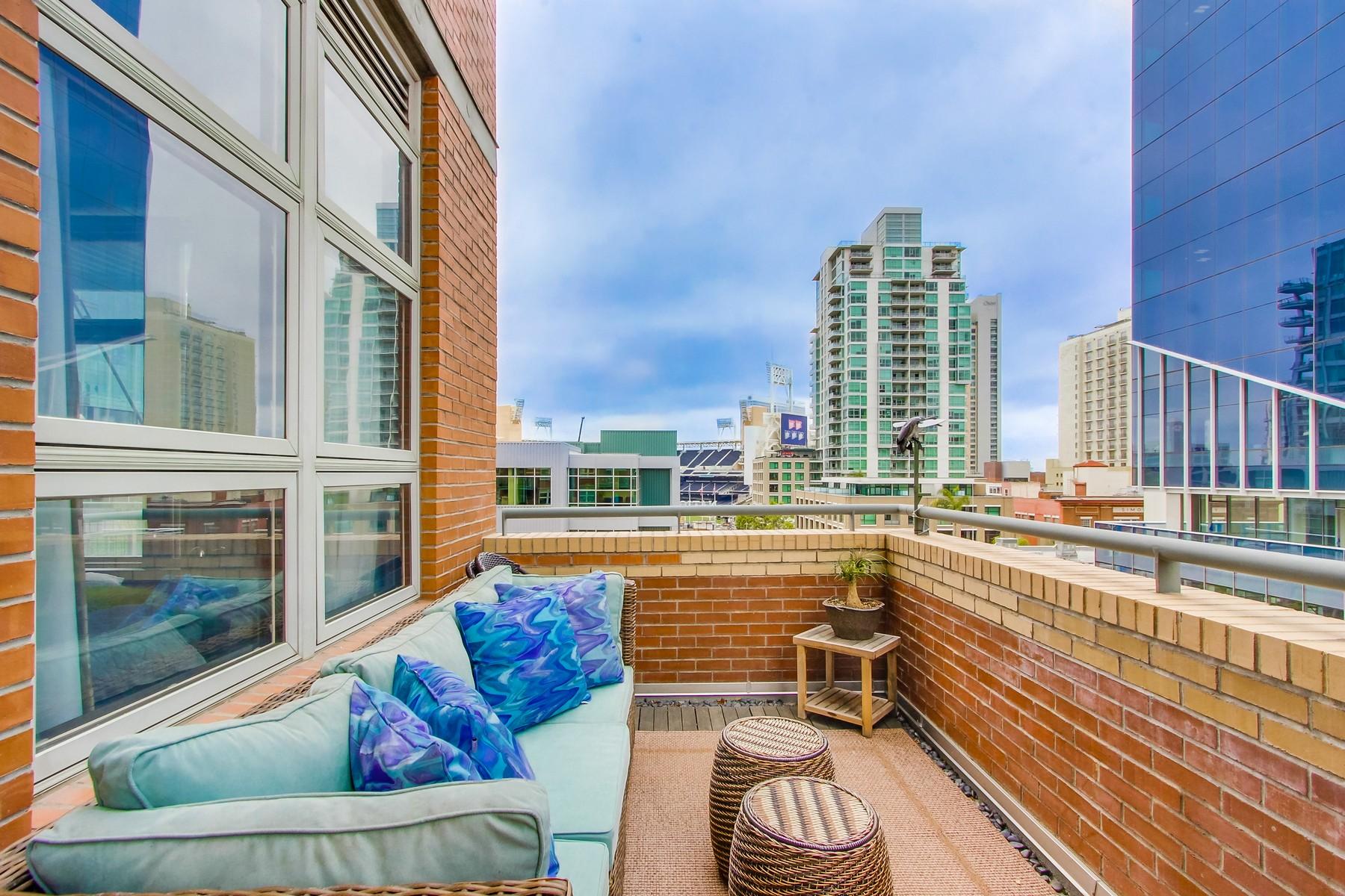 Appartement en copropriété pour l Vente à 877 Island Avenue 512 East Village, San Diego, Californie 92101 États-Unis