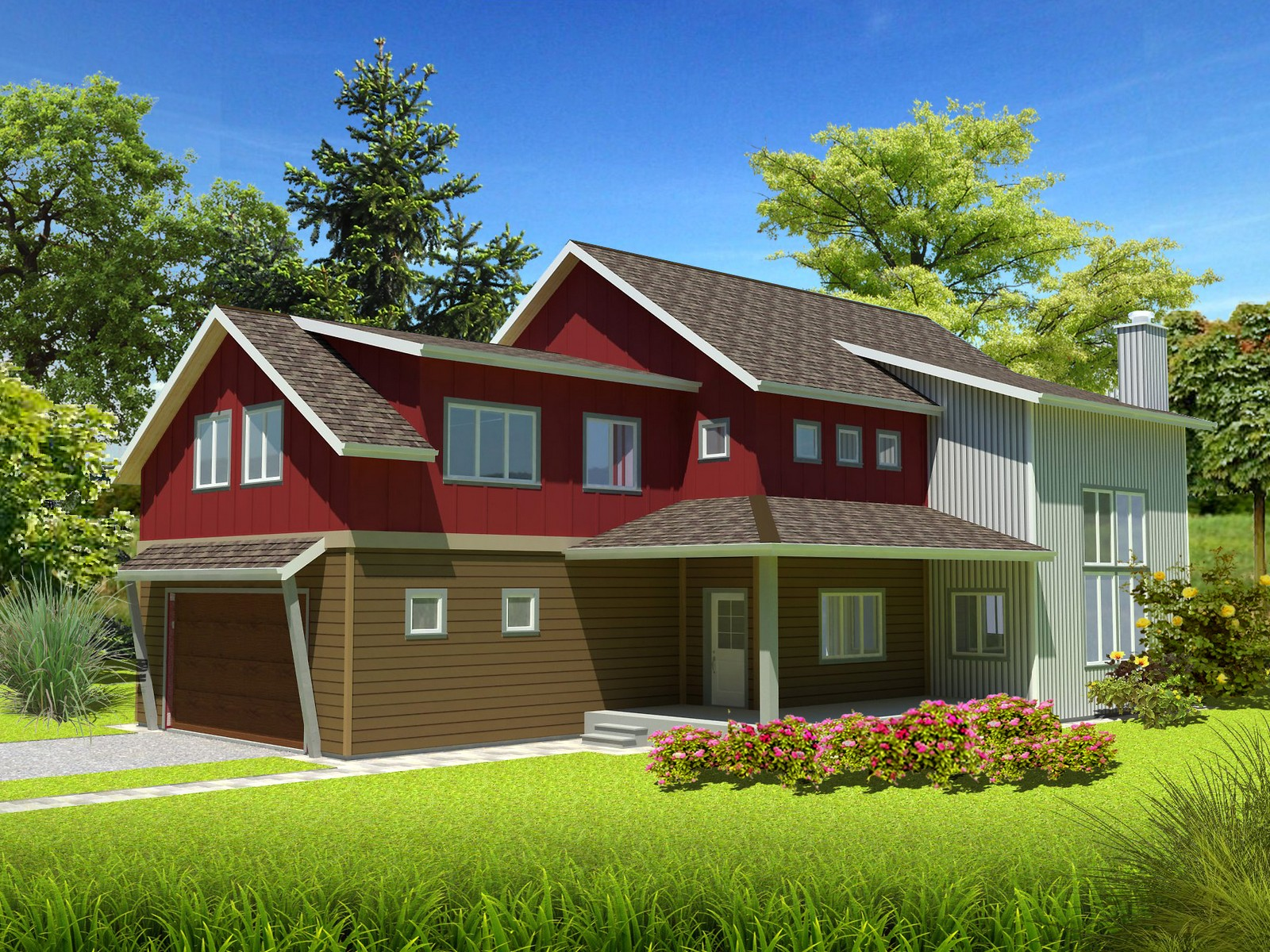 단독 가정 주택 용 매매 에 Big Sky's Ramshorn Custom Home - To Be Built 90 Primrose Big Sky, 몬타나 59716 미국