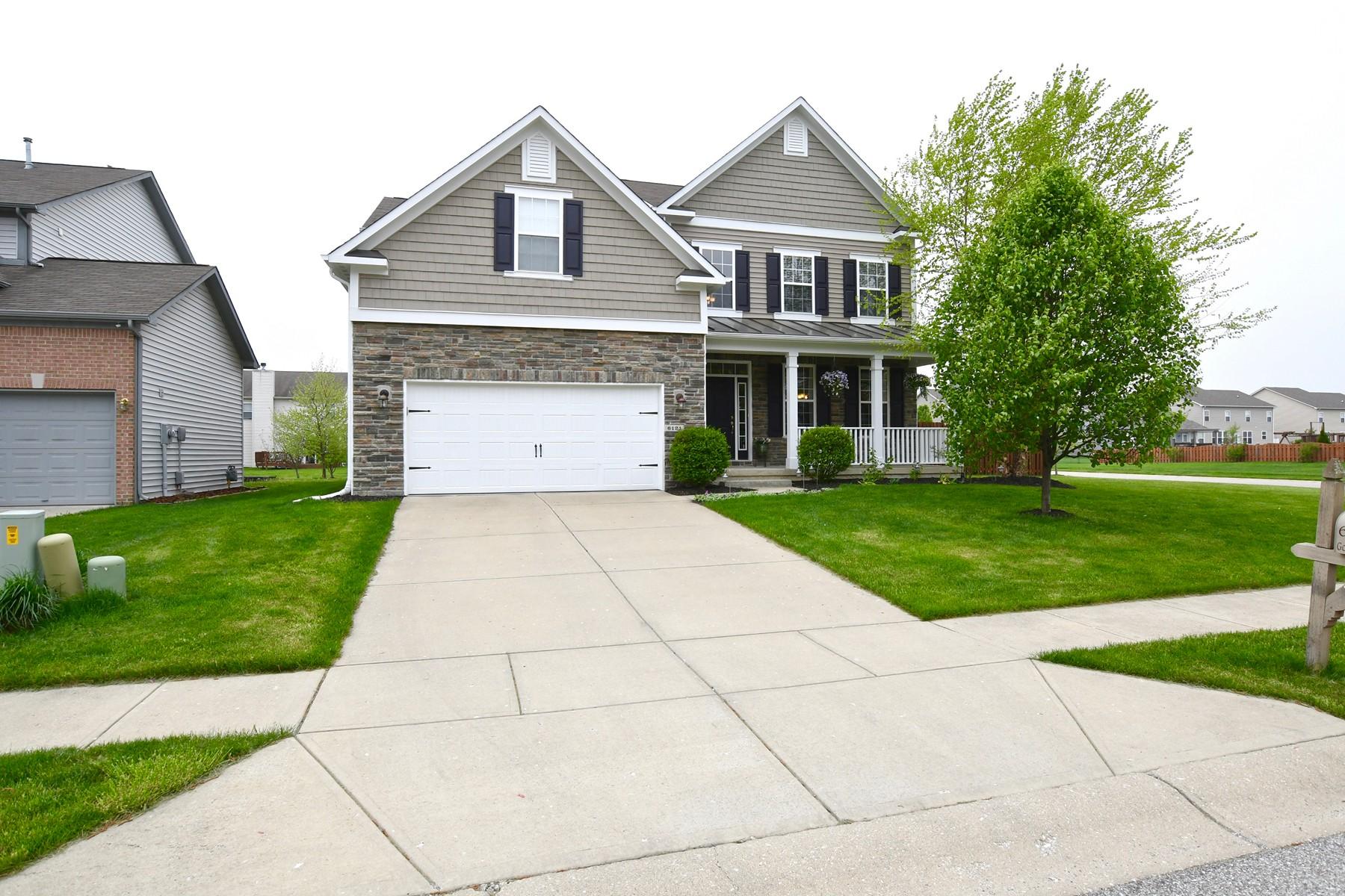獨棟家庭住宅 為 出售 在 First Rate Home 6121 Golden Eagle Dr Zionsville, 印第安那州, 46077 美國