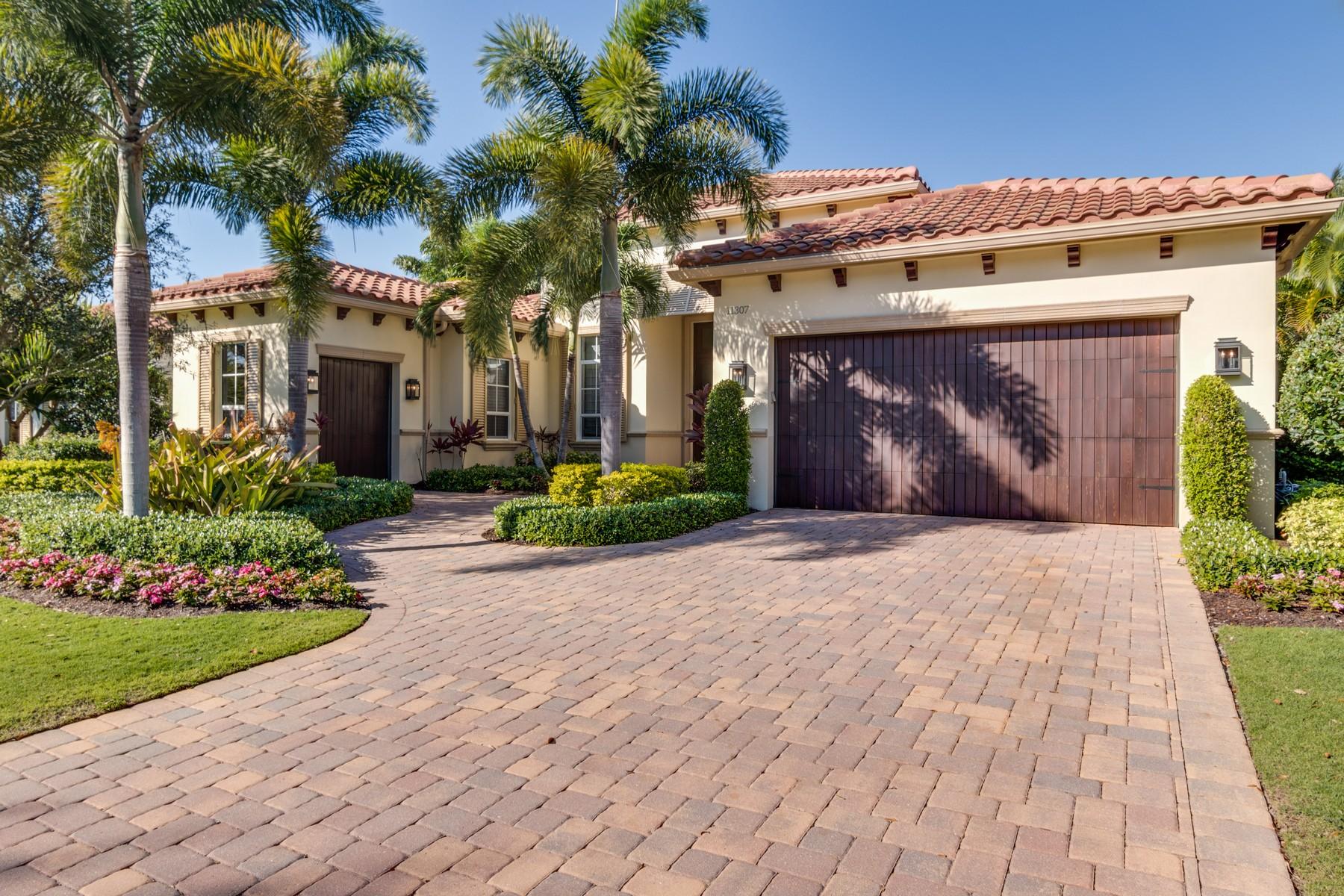 Single Family Home for Sale at 11307 Caladium Lane Old Palm Golf Club, Palm Beach Gardens, Florida, 33418 United States