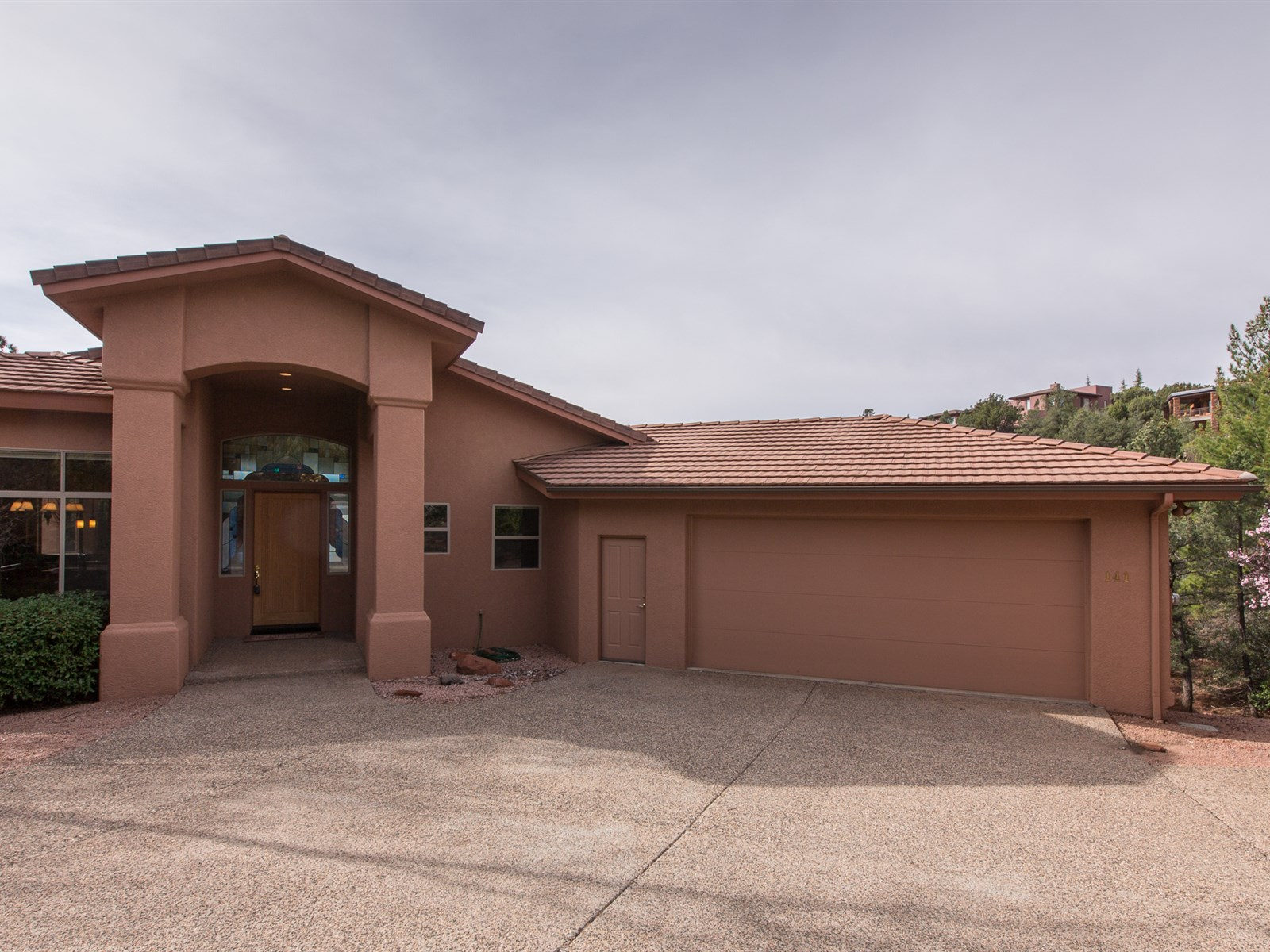 Single Family Home for Sale at Beauty, Serenity, and Privacy 141 N Palisades DR Sedona, Arizona 86336 United States