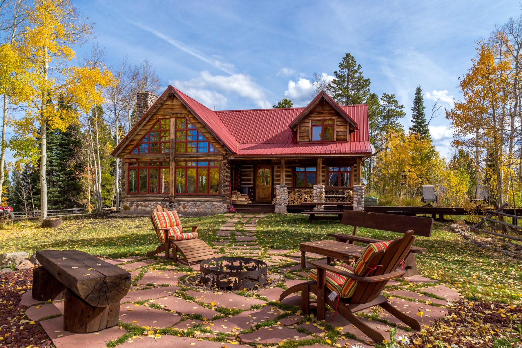 農場 / 牧場 / 種植場 為 出售 在 Stage Stop Ranch 8925 Bearpaw Trail Yampa, 科羅拉多州, 80483 美國