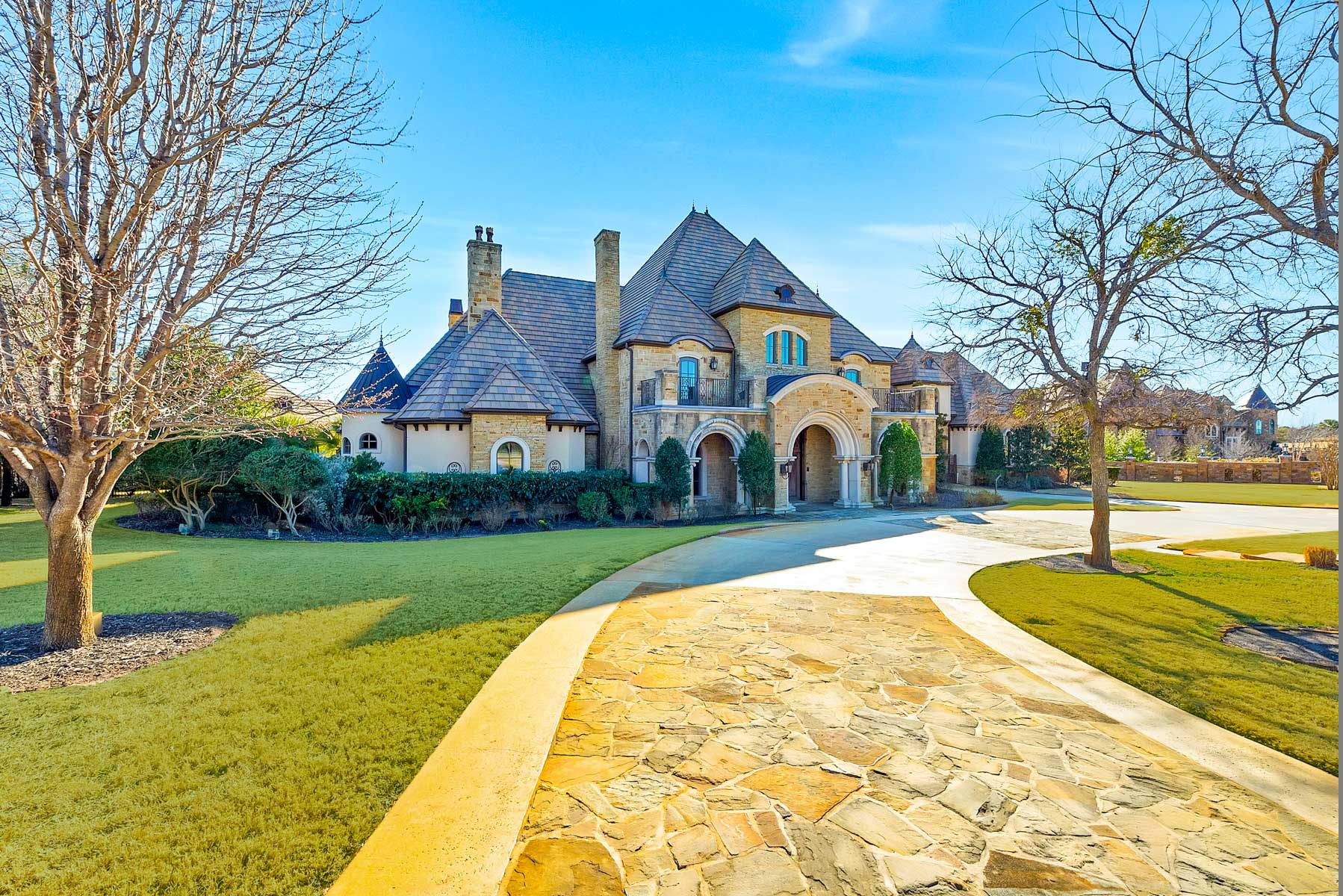 Maison unifamiliale pour l Vente à Montserrat Traditional 9517 Bella Terra Drive Fort Worth, Texas, 76126 États-Unis