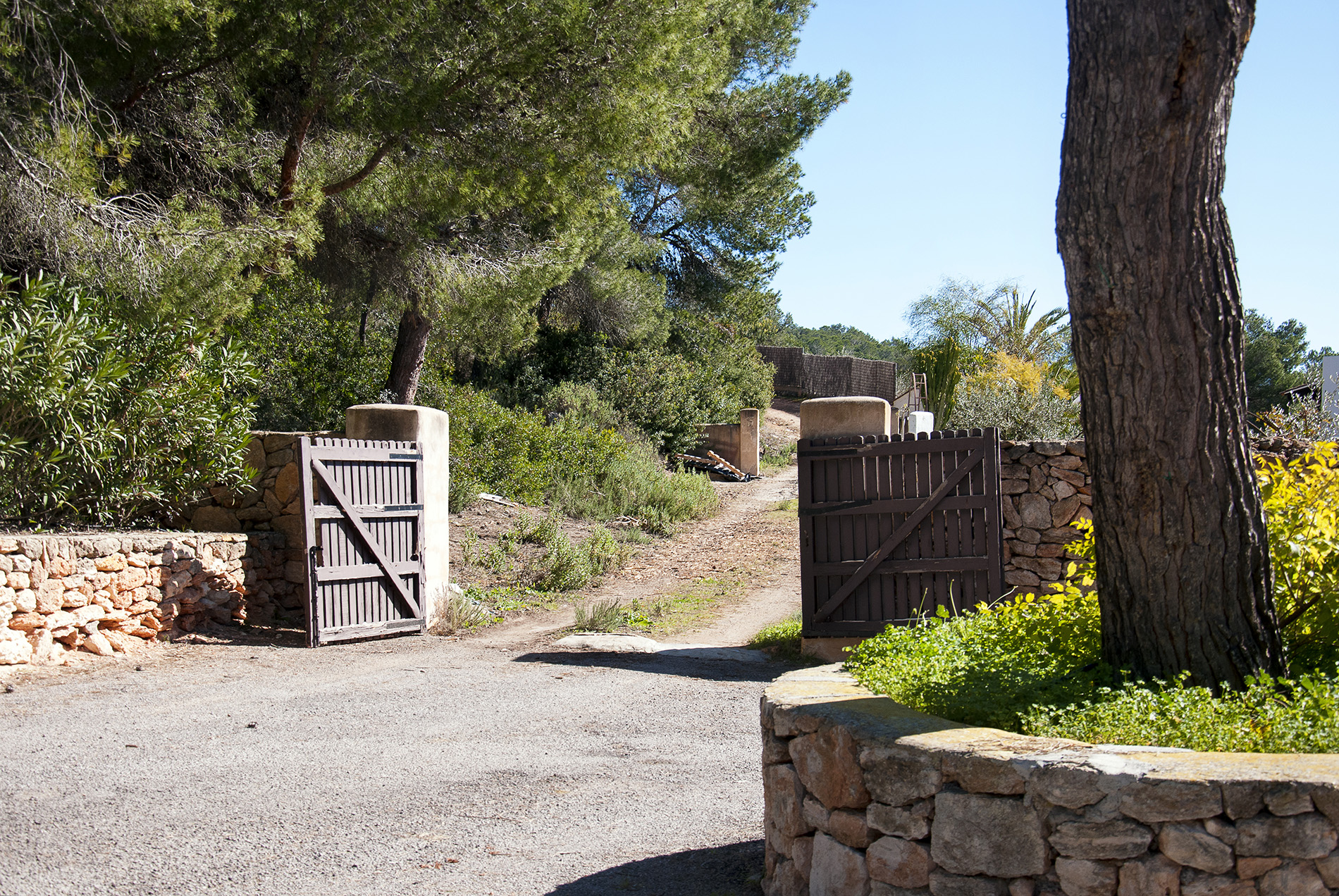 Land for Sale at Superb Plot With License In An Excellent Location Ibiza, Ibiza, 07819 Spain