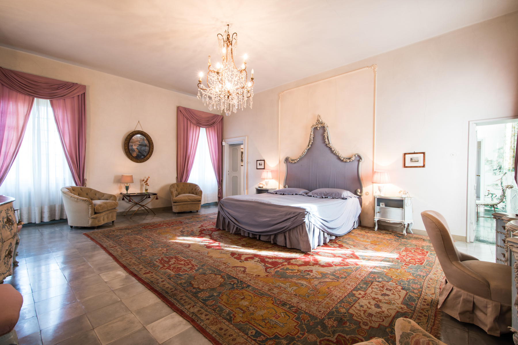 Additional photo for property listing at Charming 18th century villa in Lucca countryside Montuolo Lucca, Lucca 55100 Italien