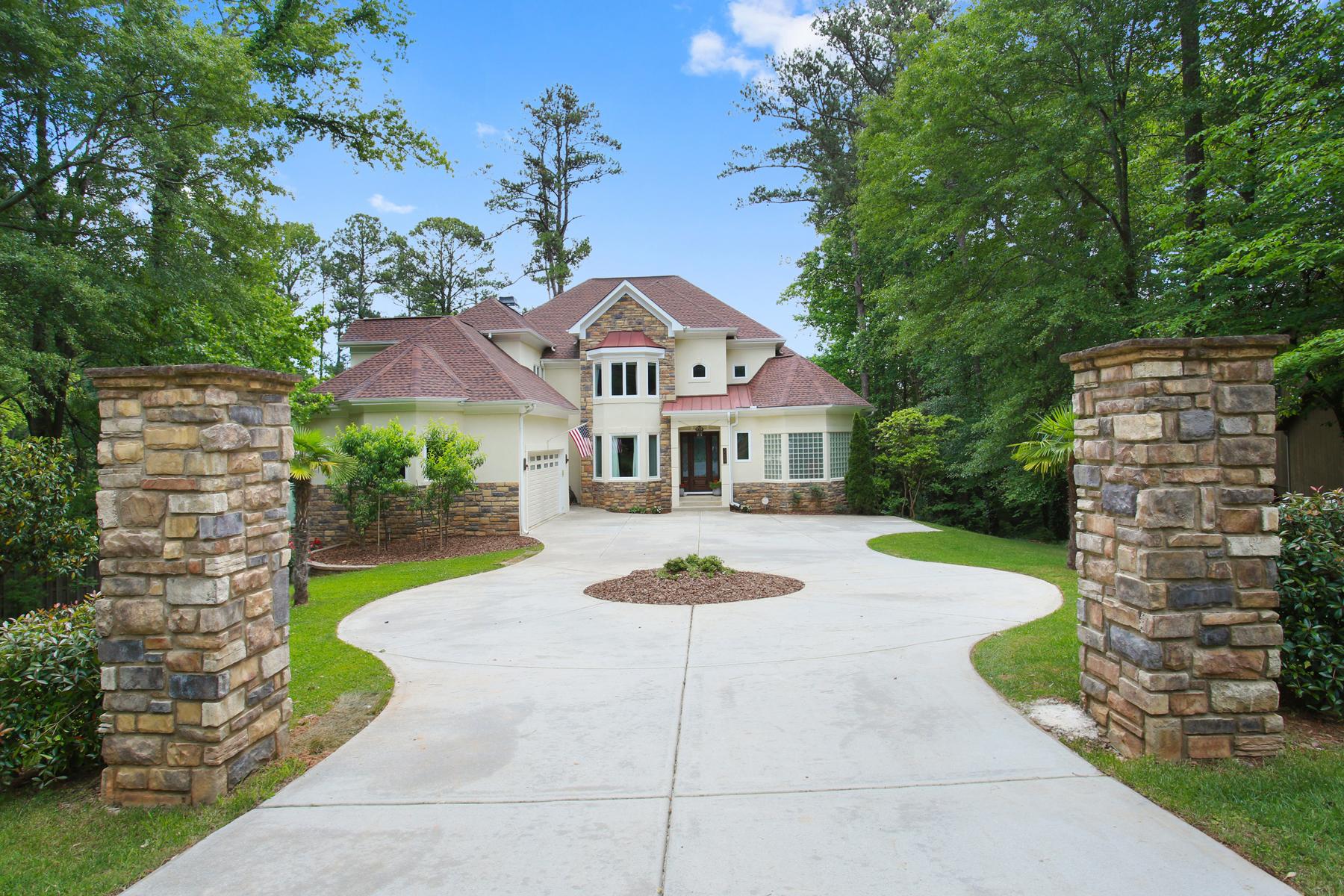 Casa para uma família para Venda às European Gem 3088 Payton Road NE Atlanta, Geórgia, 30345 Estados Unidos