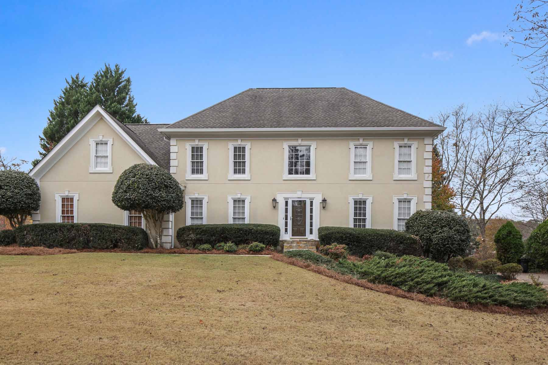Single Family Home for Sale at Beautiful Traditional Home In Popular Swim Tennis 5377 Goose Creek Cove Peachtree Corners, Georgia, 30092 United States