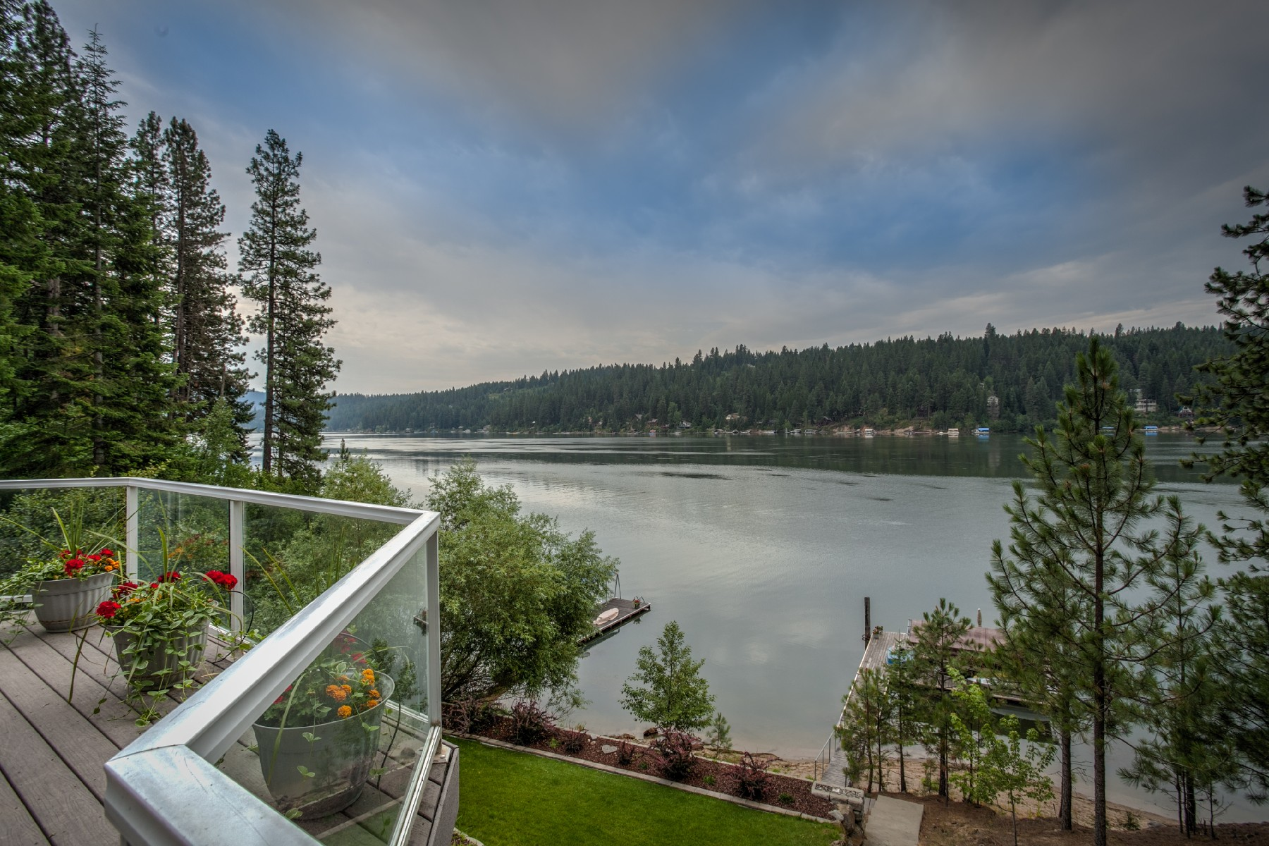 Property For Sale at Hayden Lake Waterfront
