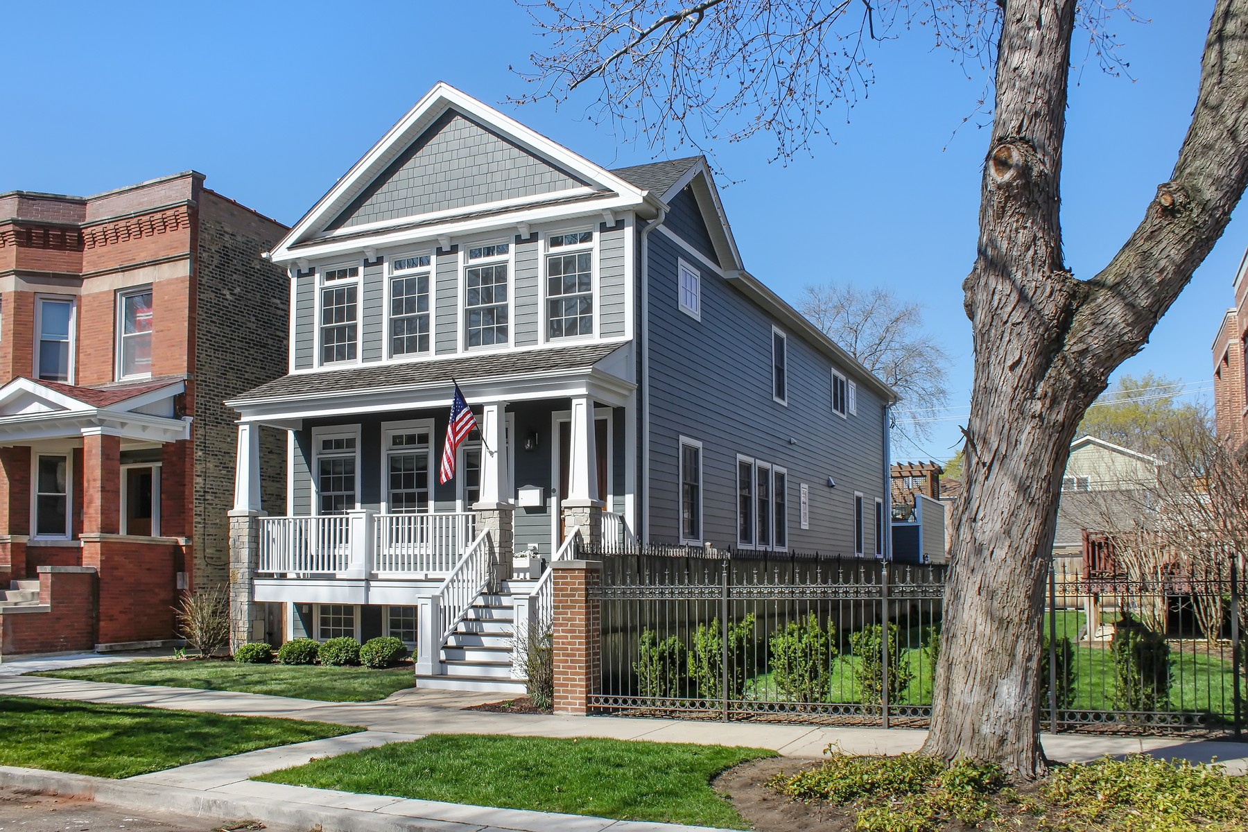 Single Family Home for Sale at Incredible Construction 3848 N Bell Avenue North Center, Chicago, Illinois, 60618 United States