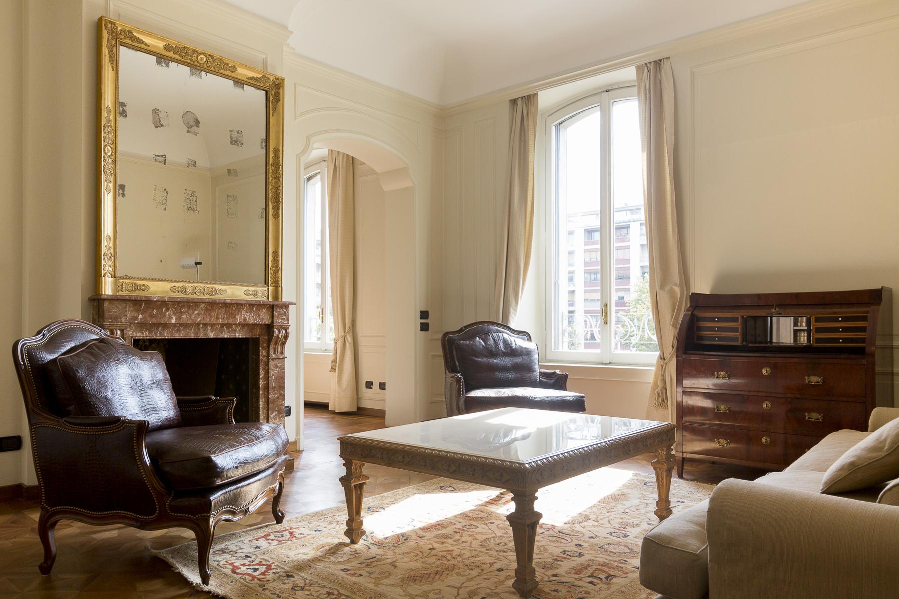Wohnung für Mieten beim Prestigious apartament in elegant historical building Corso Sempione Milano, Milan 20145 Italien