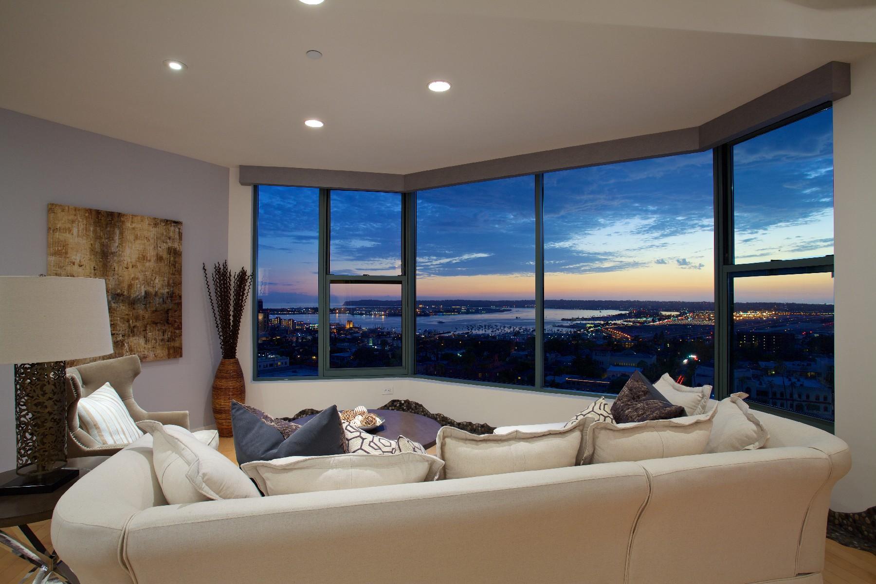 콘도미니엄 용 매매 에 2500 6th Avenue 2500 6th Avenue Unit 1207 San Diego, 캘리포니아 92103 미국