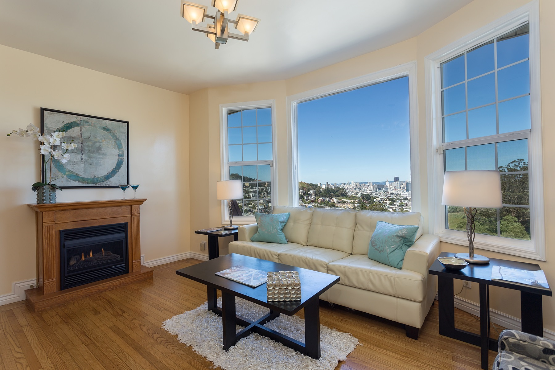 獨棟家庭住宅 為 出售 在 Visual Paradise 3412 Market Street Twin Peaks, San Francisco, 加利福尼亞州, 94118 美國