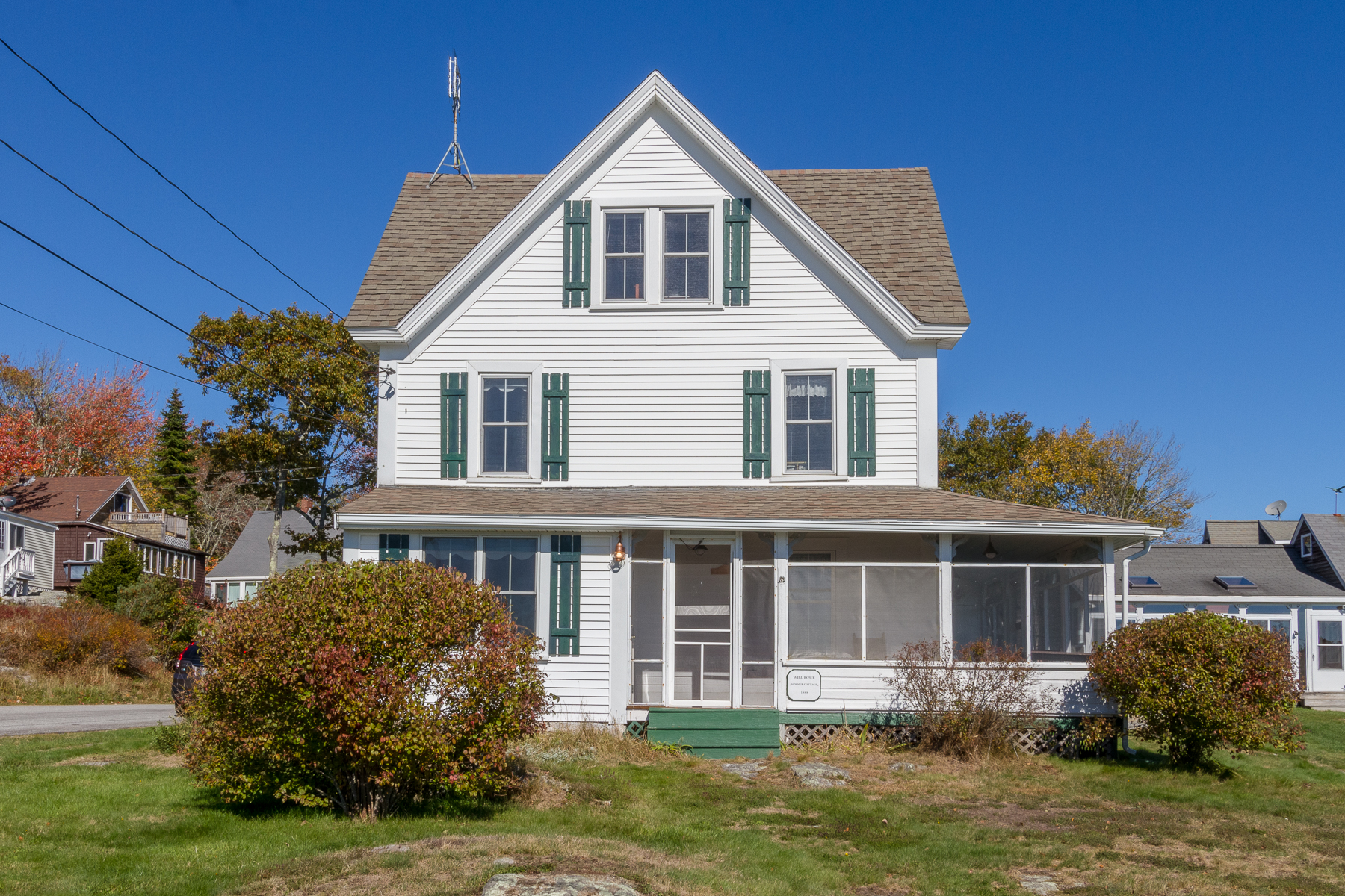 Single Family Home for Sale at 1440 Five Islands Road Georgetown, Maine 04548 United States