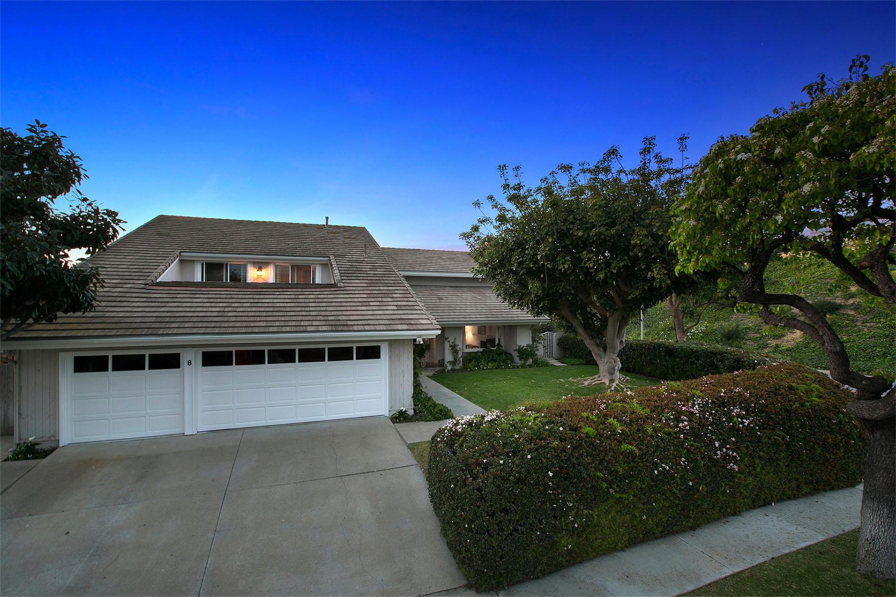 단독 가정 주택 용 매매 에 8 Twin Lakes Circle Corona Del Mar, 캘리포니아 92625 미국