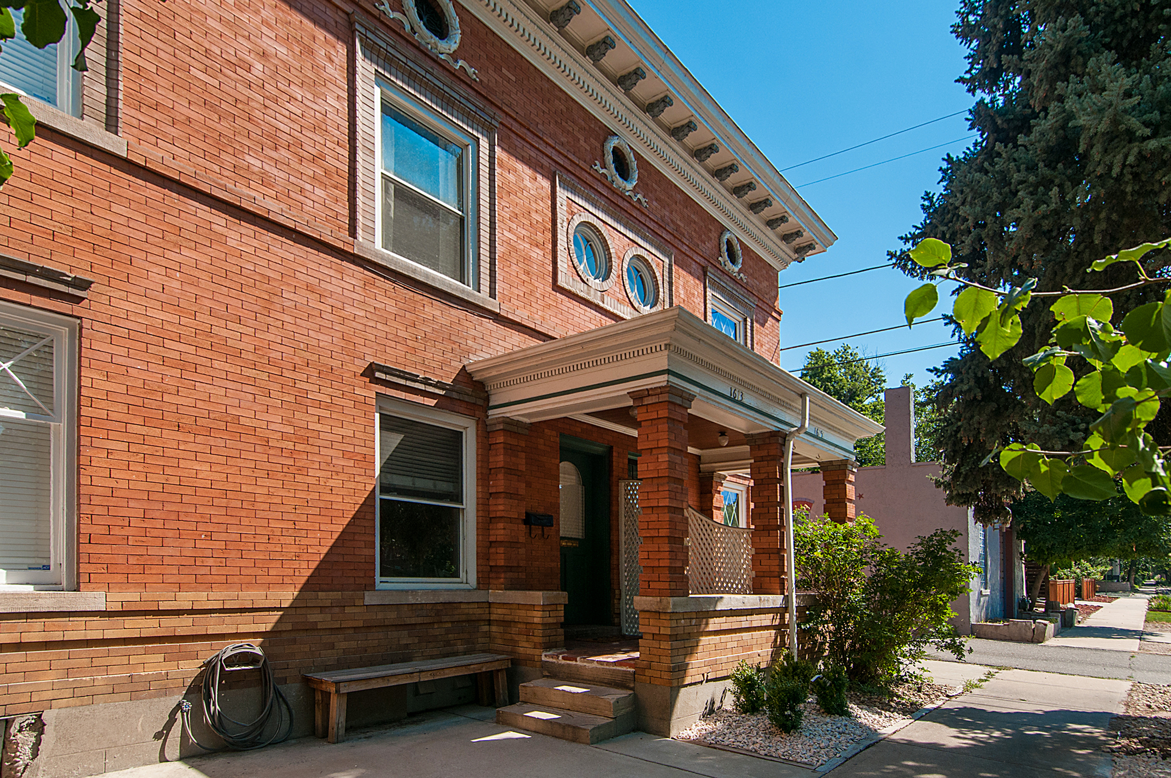 Single Family Home for Sale at Recently updated 2-story townhome 1613 E 25th Ave Denver, Colorado 80205 United States