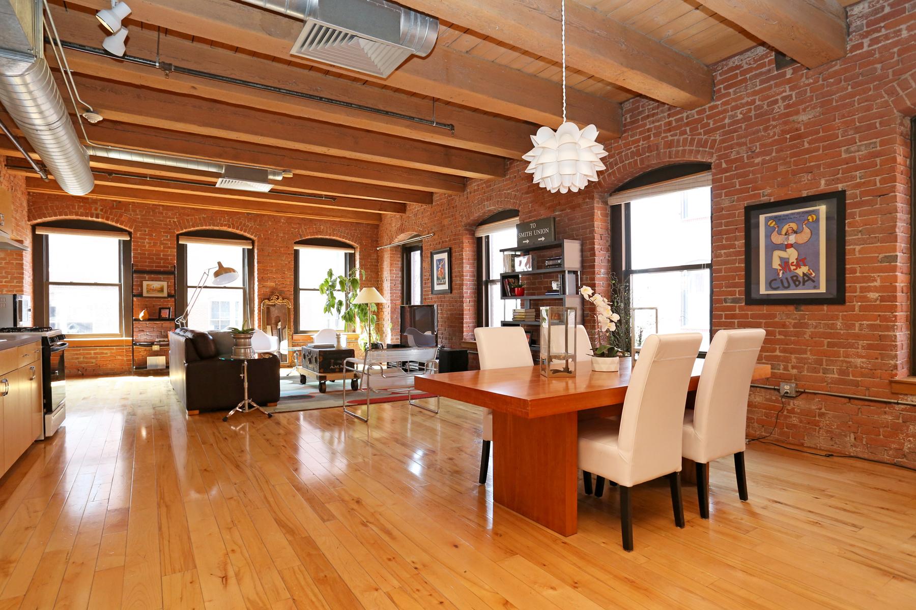 Eigentumswohnung für Verkauf beim Seaport Condominium 21 Wormwood Street Unit 412 Boston, Massachusetts 02210 Vereinigte Staaten