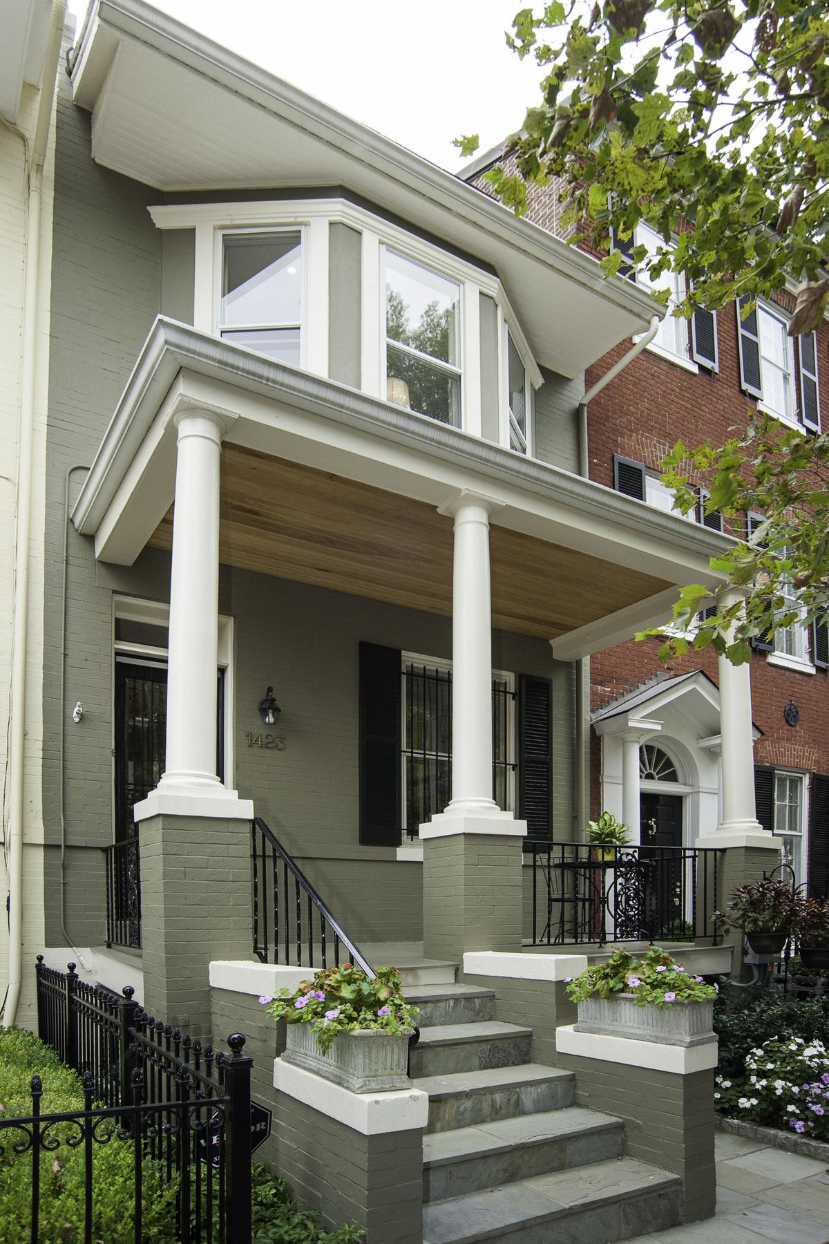 联栋屋 为 销售 在 1423 33rd Street Nw, Washington Georgetown, Washington, 哥伦比亚特区 20007 美国