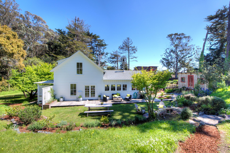 sales property at Bolinas Farmhouse