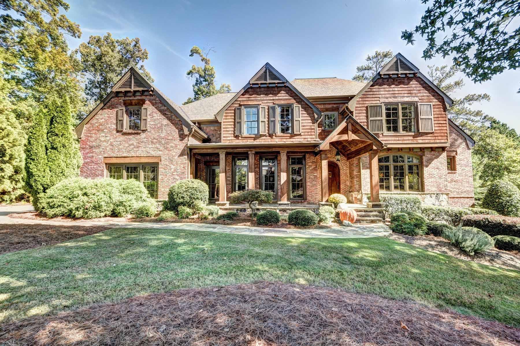 獨棟家庭住宅 為 出售 在 Rustic Elegance at The River Club 902 Little Darby Lane Suwanee, 喬治亞州, 30024 美國