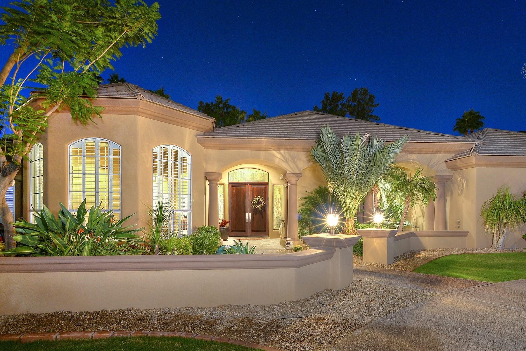 단독 가정 주택 용 매매 에 Executive home in well known PV gated community 8302 N Canta Redondo Street Paradise Valley, 아리조나, 85253 미국