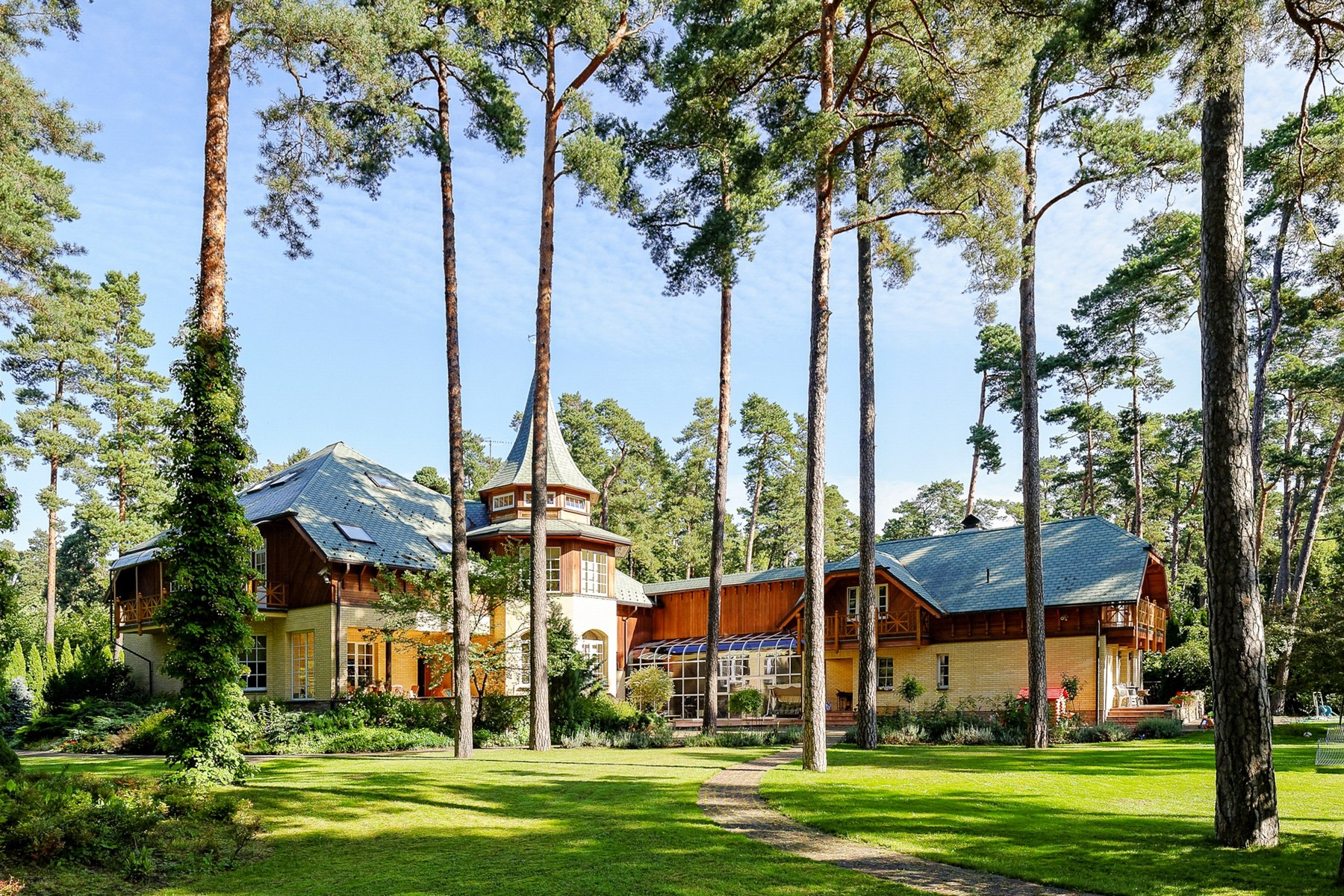 sales property at Sophisticated private house in Jurmala