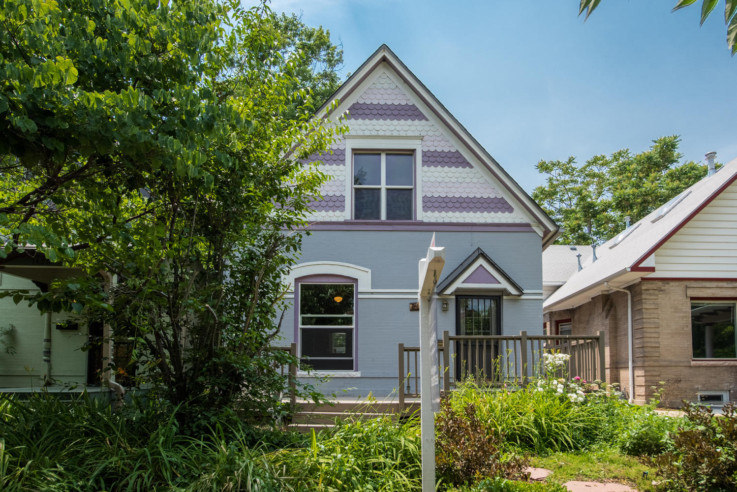 Single Family Home for Sale at Cute-as-a-button Victorian 2-story bungalow with original charm 1429 Milwaukee Street Congress Park, Denver, Colorado, 80206 United States