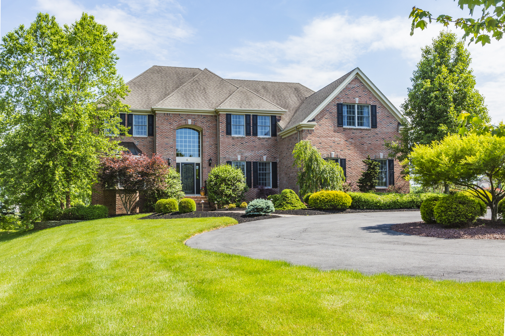 sales property at Luxurious Country Classics Home - Montgomery Township