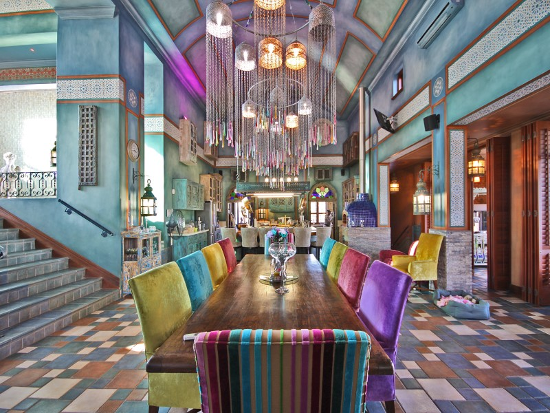 Property Of Colour and vibrancy of India in the Winelands