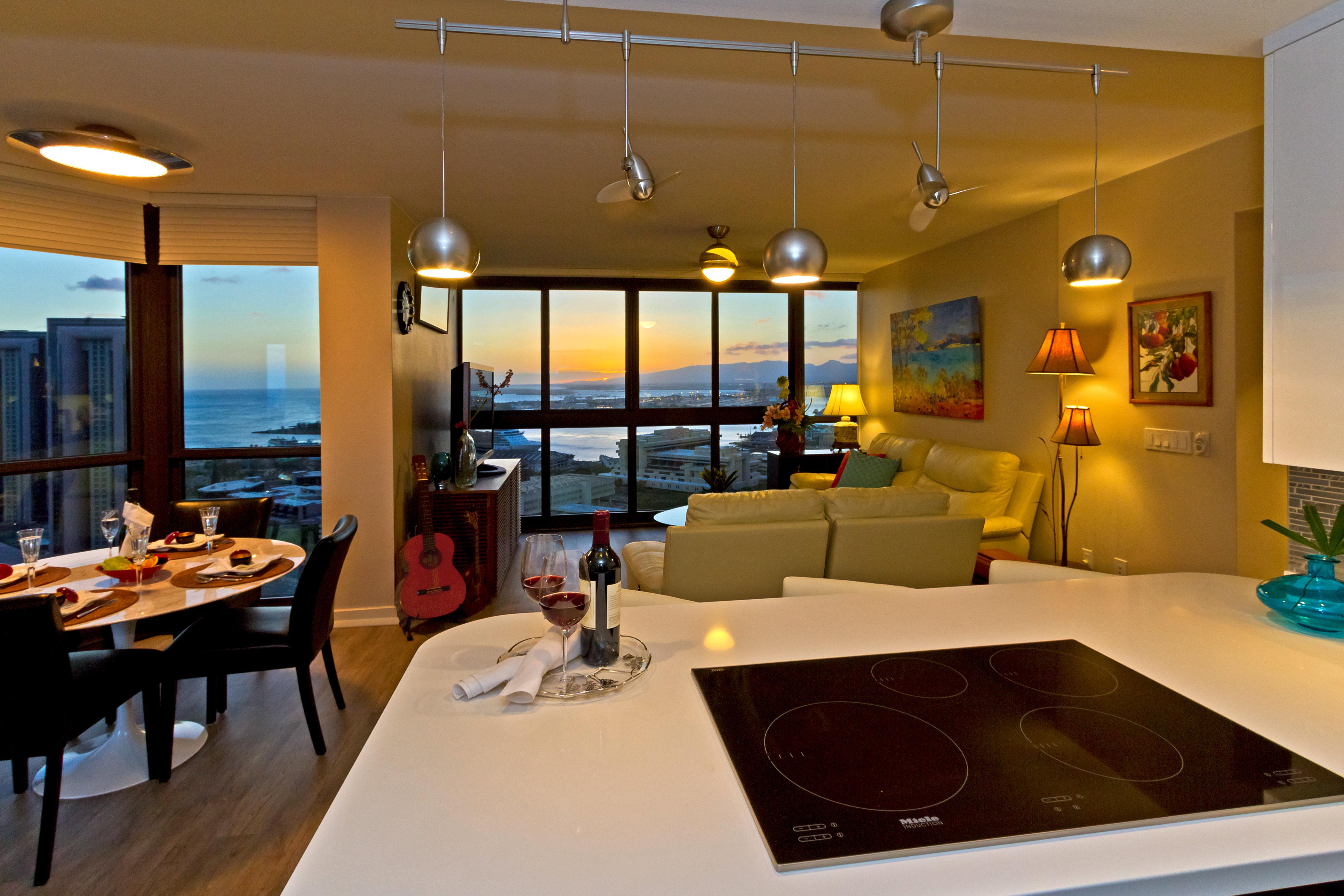 Appartement en copropriété pour l Vente à Queen Street Highrise 600 Queen St #3309 Kakaako, Honolulu, Hawaii 96813 États-Unis