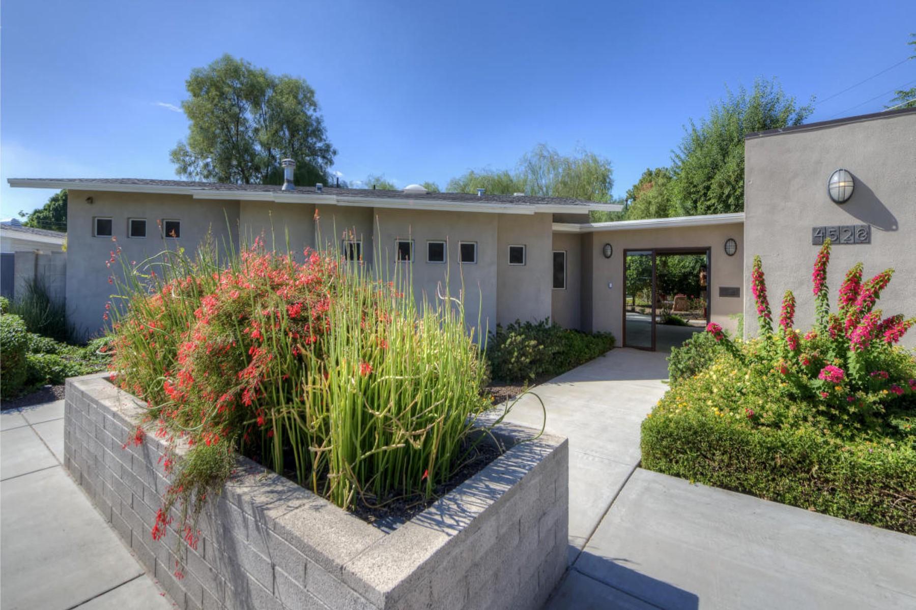 獨棟家庭住宅 為 出售 在 Unique Mid Century Modern residence 4528 N 40th Pl Phoenix, 亞利桑那州, 85018 美國