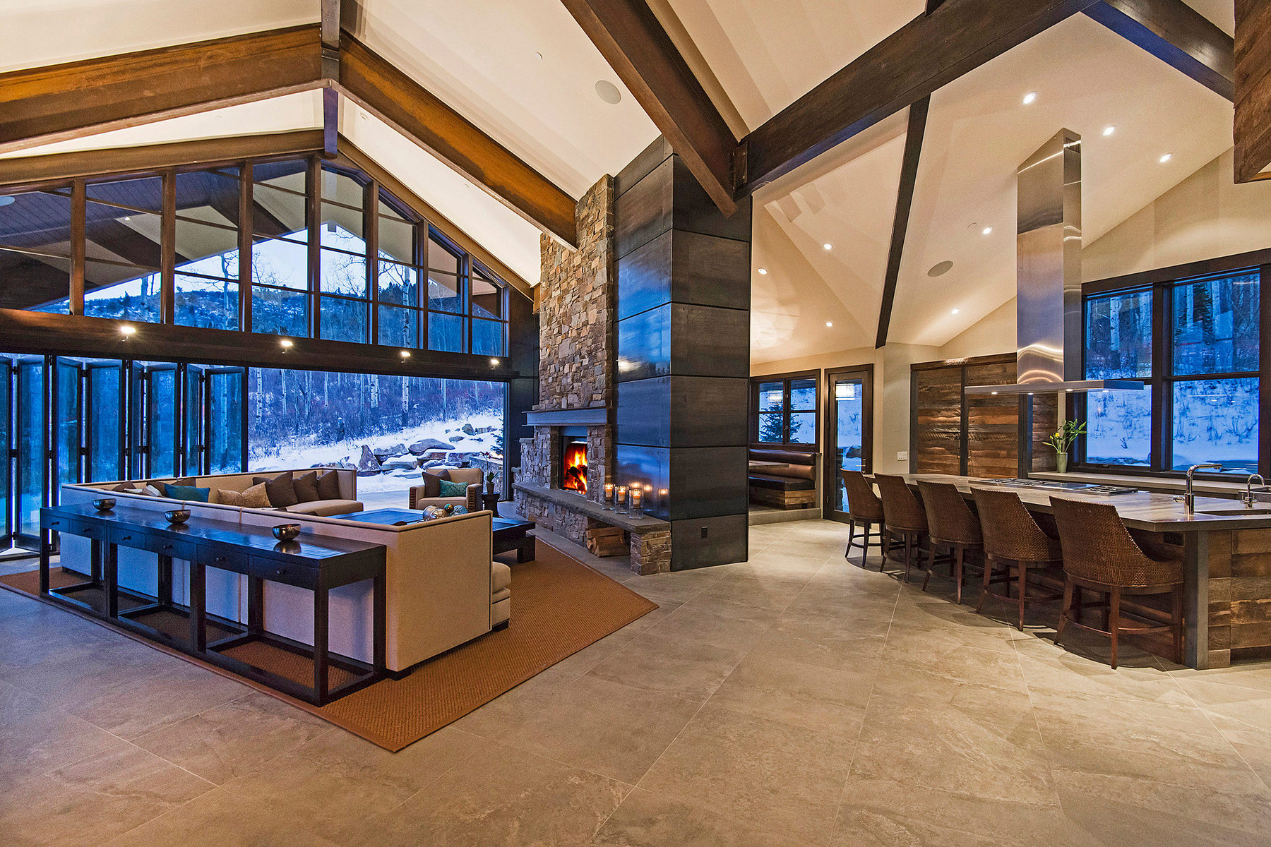 一戸建て のために 売買 アット Newly Finished Mountain Contemporary Masterpiece 21 Canyon Court Park City, ユタ 84060 アメリカ合衆国