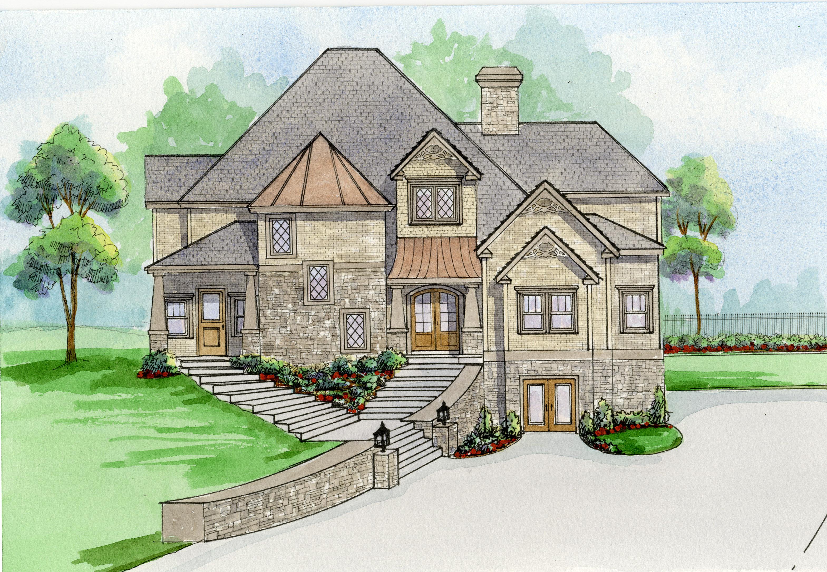 Single Family Home for Sale at New Construction In Buckhead 3037 Towerview Drive NE Buckhead, Atlanta, Georgia 30324 United States
