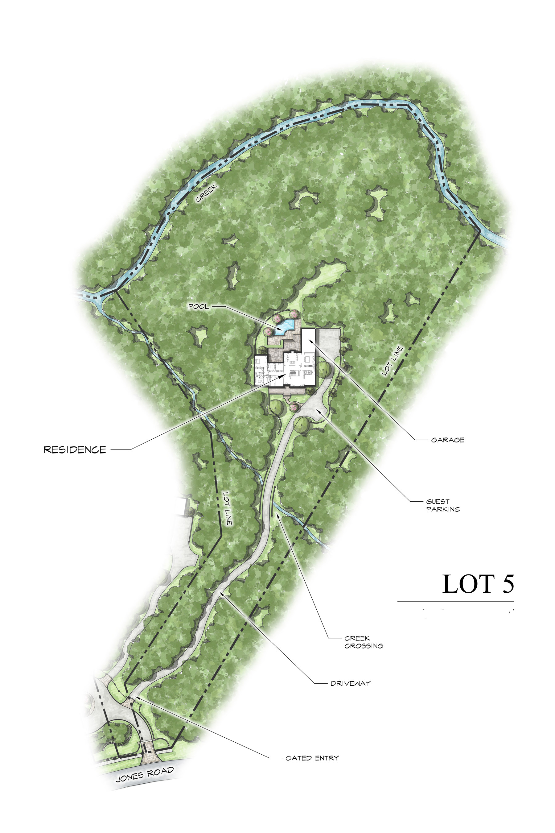 sales property at Individual Gated Estate Lot