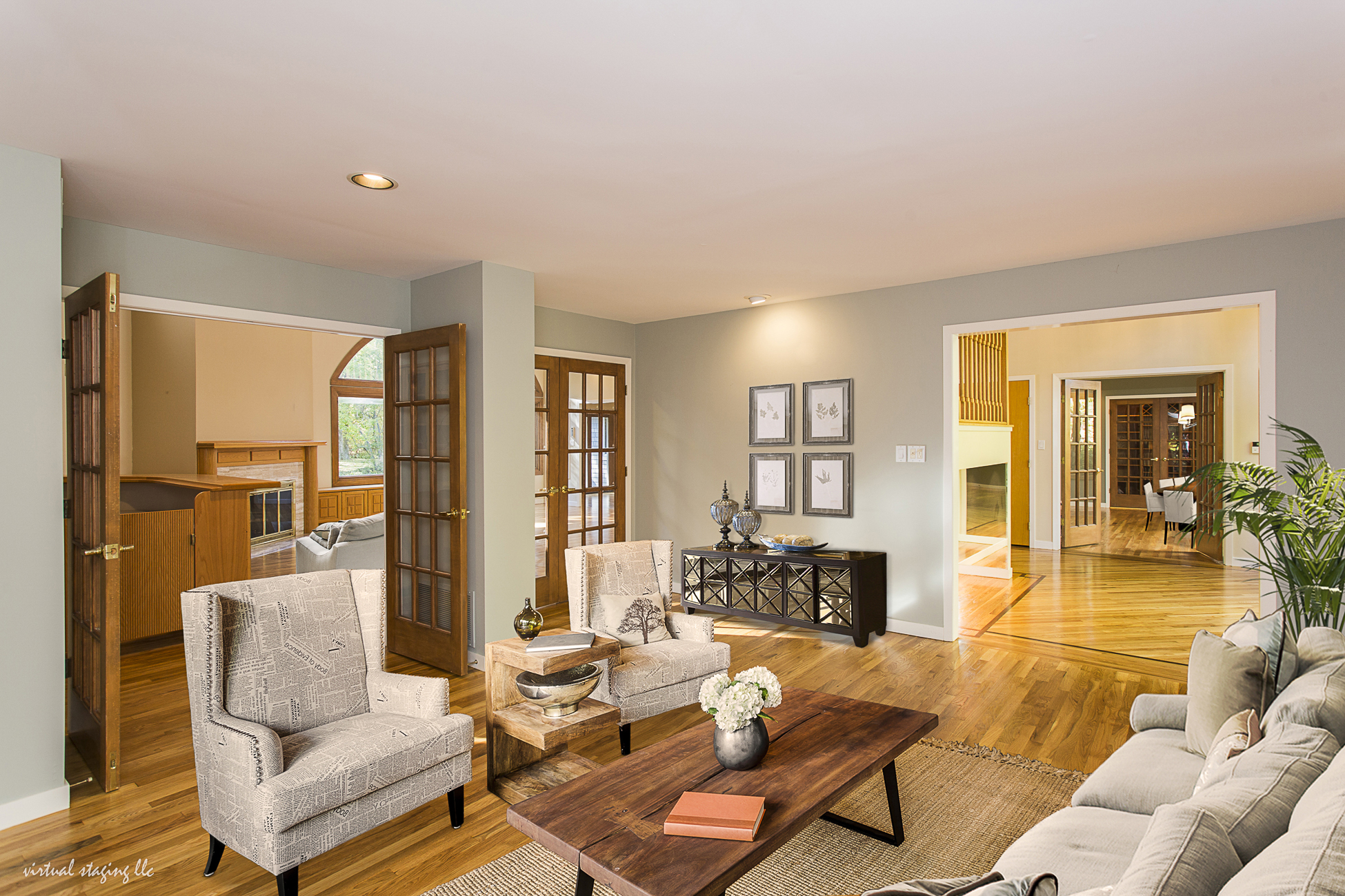 Additional photo for property listing at Sprawling Multi-generational Contemporary 90 Montadale Drive Princeton, Nueva Jersey 08540 Estados Unidos