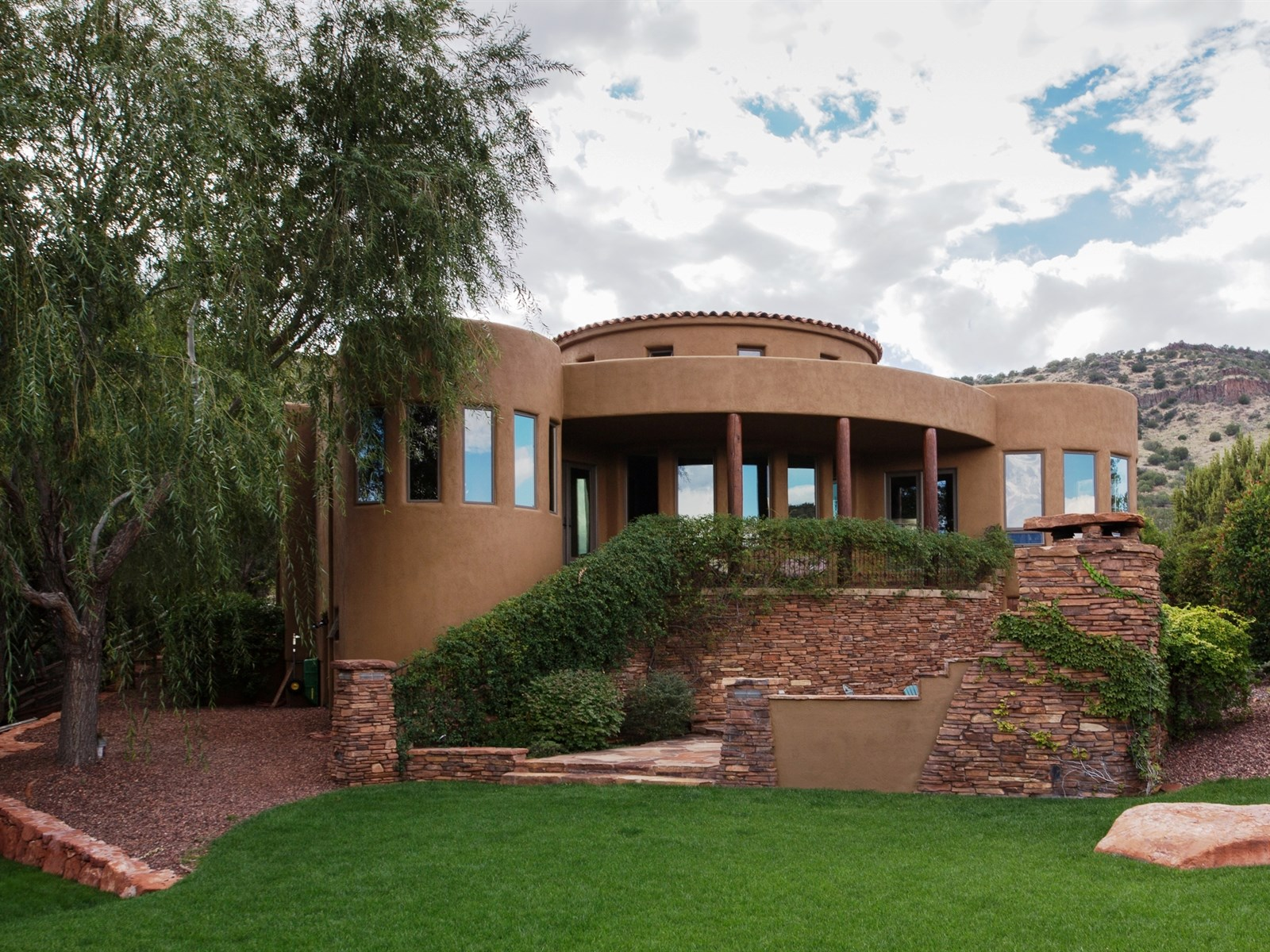 Property For Sale at Delightful Tuscan Style Sedona Home
