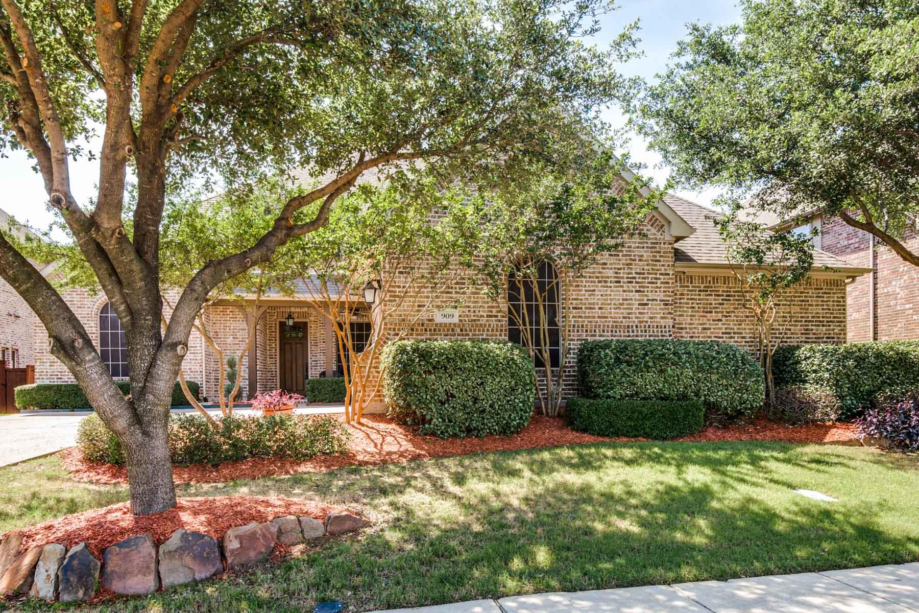 Vivienda unifamiliar por un Venta en Builder Model Home 909 Thornbird Drive McKinney, Texas 75071 Estados Unidos