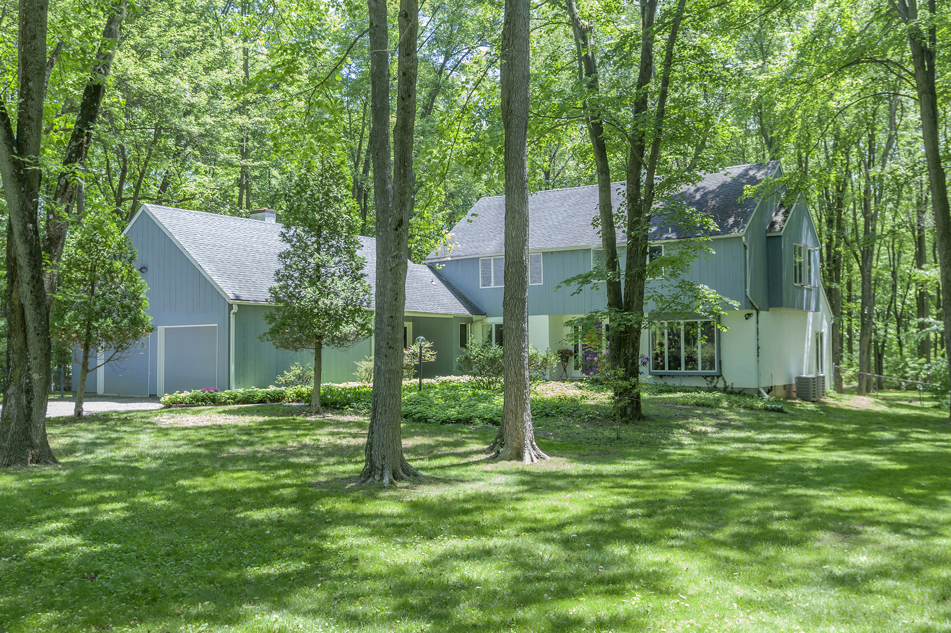 Property For Sale at A Nature Lover's Retreat, Hugged by Trees - Lawrence Township