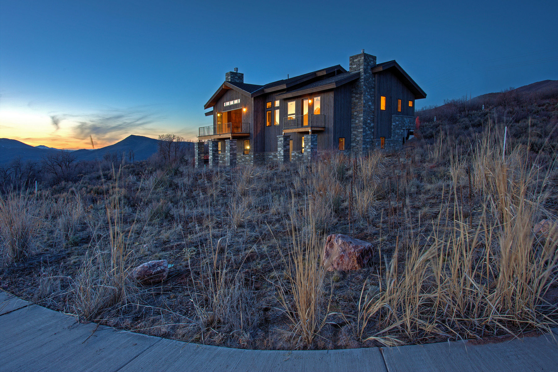 Property For Sale at Warm Mountain Modern New Construction in Stunning Hideout Canyon