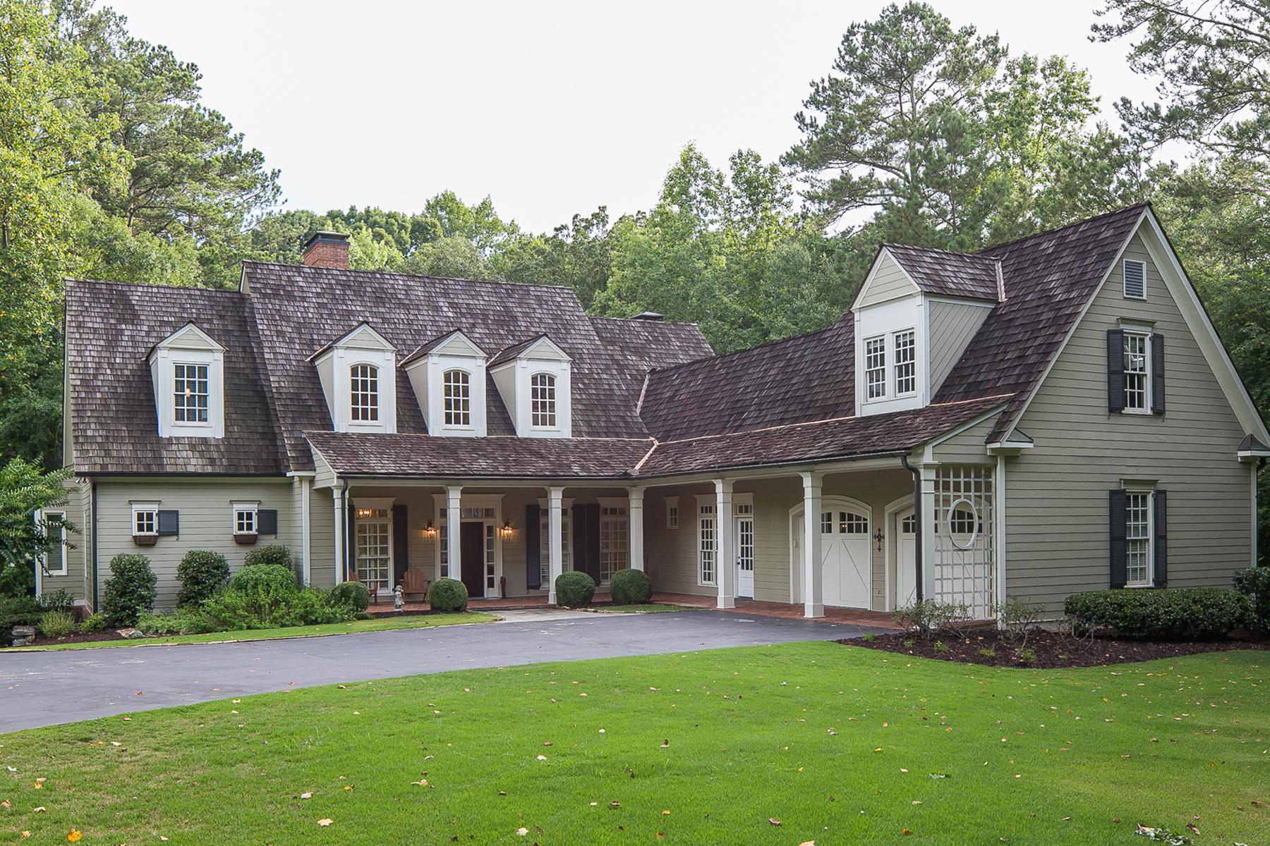独户住宅 为 销售 在 Stunning Classic in Milton 1990 Long Hollow Lane 米尔顿, 乔治亚州, 30004 美国