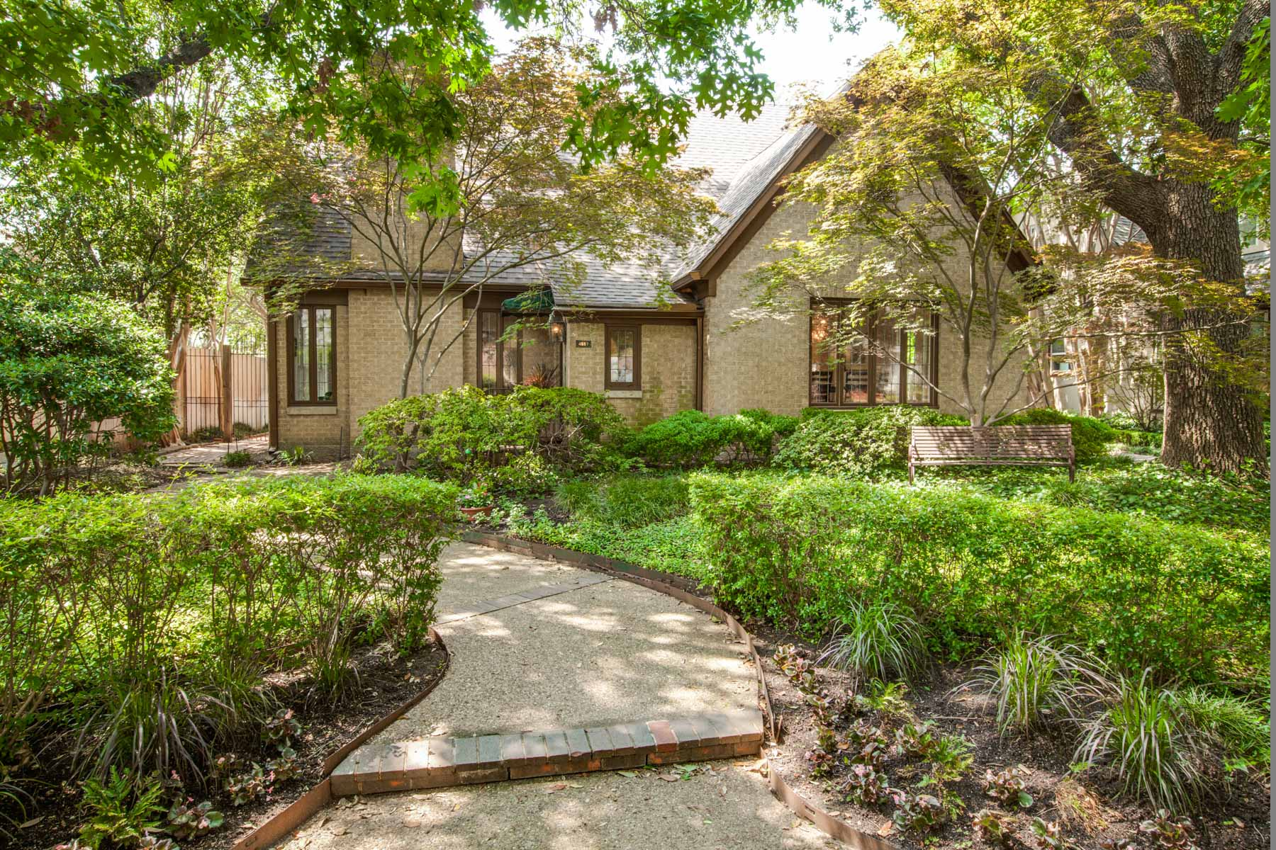 Single Family Home for Sale at English Tudor 4557 Lorraine Avenue Dallas, Texas, 75205 United States