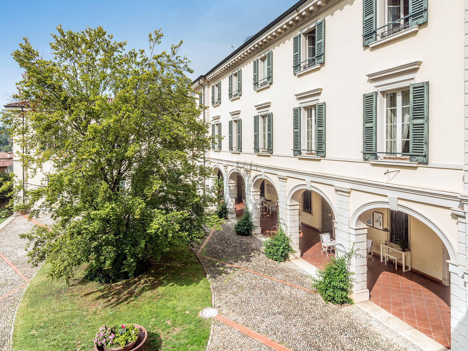 Single Family Home for Sale at Historic estate with private park in Franciacorta Brescia Brescia, Brescia 25136 Italy