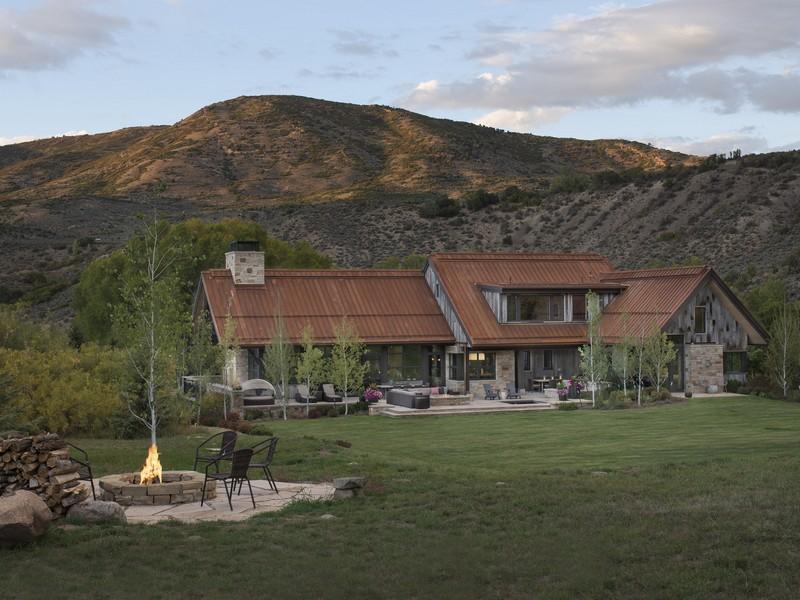 Maison unifamiliale pour l Vente à Creekside Ranch 3500 Snowmass Creek Road Snowmass, Colorado 81654 États-Unis