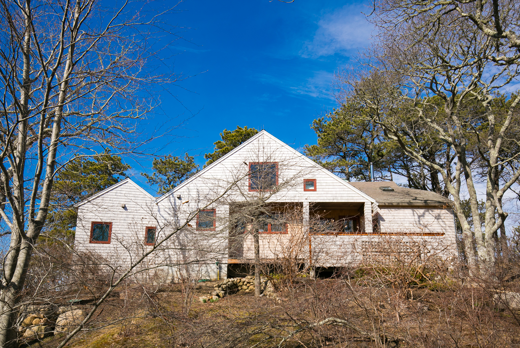Single Family Home for Sale at Inviting Chilmark Contemporary 72 Blueberry Ridge Lane Chilmark, Massachusetts, 02535 United States