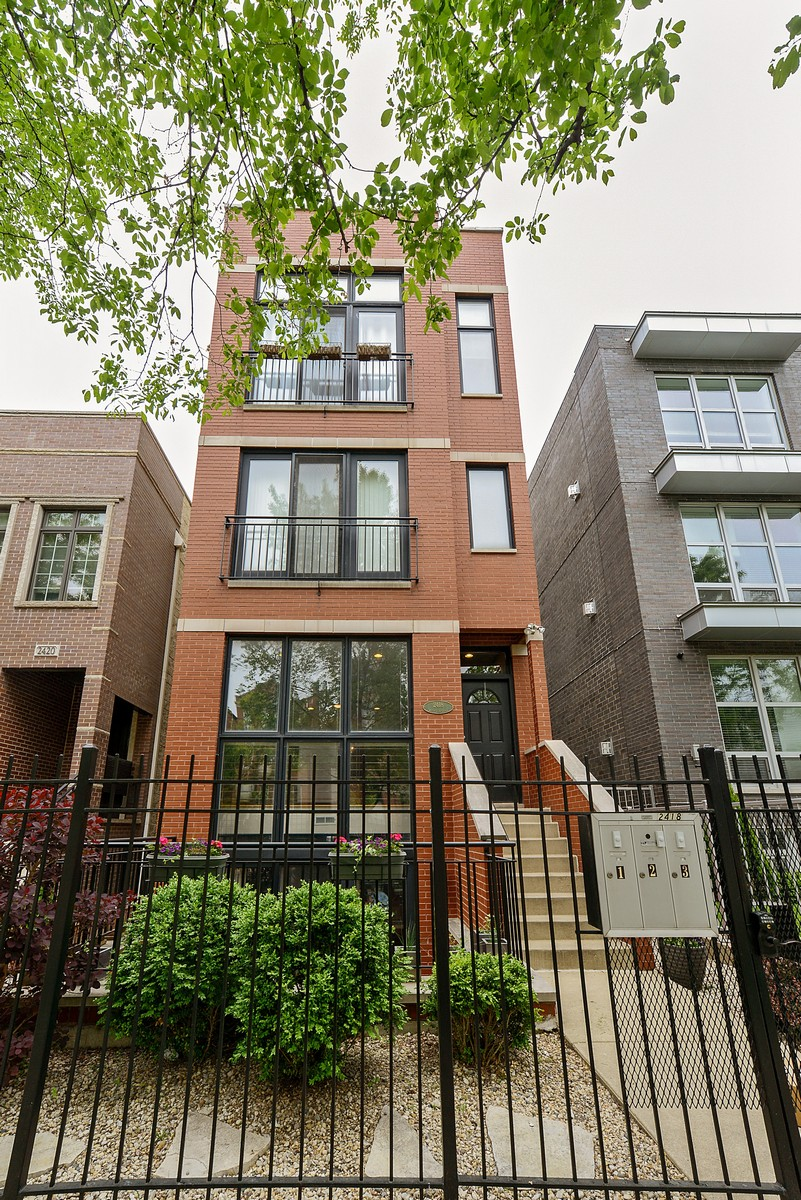 Single Family Home for Sale at Exceptional Value and Space 2418 W Cortland Street Unit 1 Logan Square, Chicago, Illinois, 60647 United States