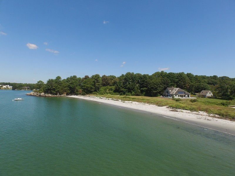 Property For Sale at Gerrish Island Waterfront Residence with 180-degree views of Portsmouth Harbor