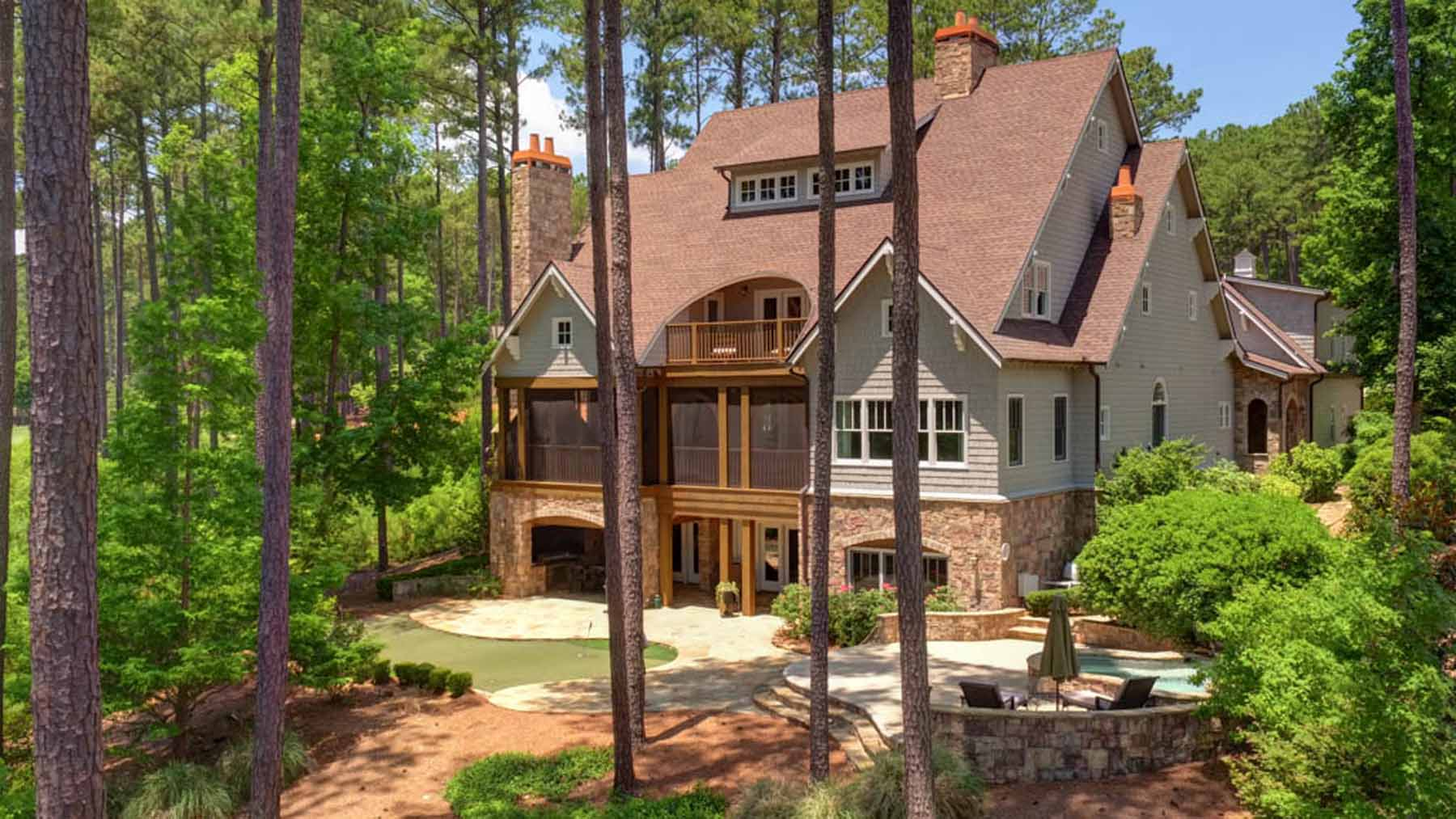 Single Family Home for Active at Reynolds Lake Oconee 1081 Amasa Lane Greensboro, Georgia 30642 United States