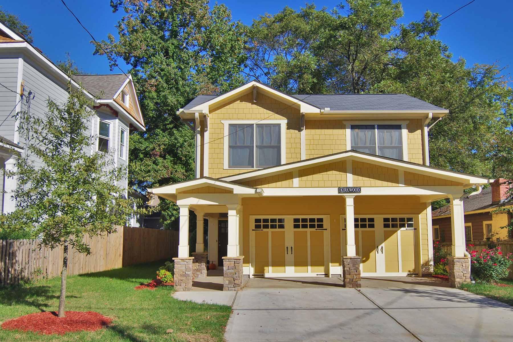 Moradia para Venda às Amazing three bedroom, two and one half bath craftsman. 357 Murray Hill Ave. Kirkwood, Atlanta, Geórgia 30317 Estados Unidos