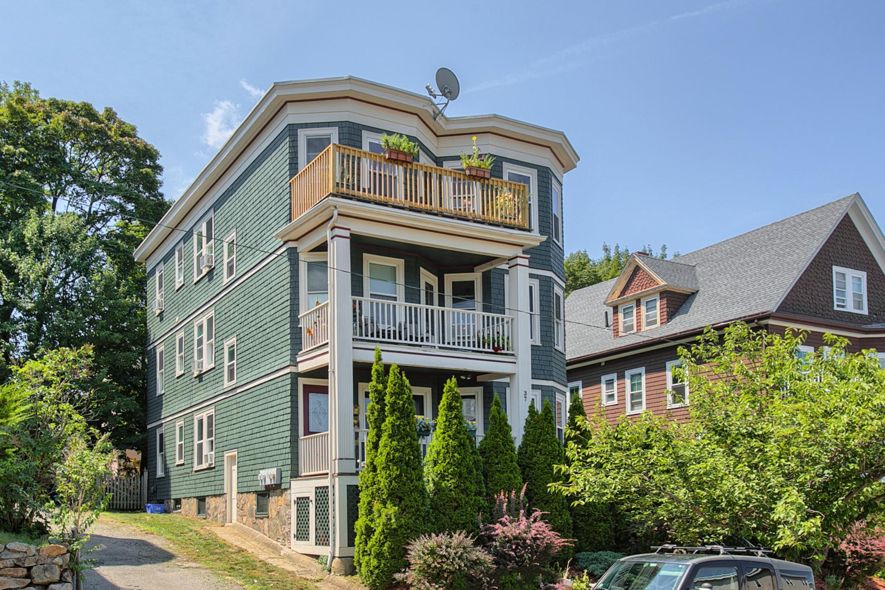 Condominium for Sale at Roslindale Condominium 37 Montvale Street Unit 3 Roslindale, Boston, Massachusetts 02131 United States