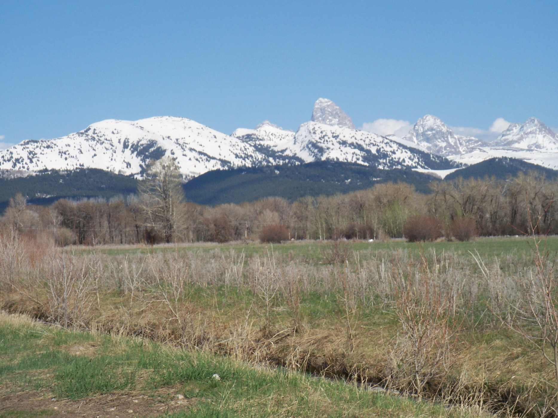 Земля для того Продажа на Teton Views and Seasonal Waterway 432 Granite Basin Loop Tetonia, Айдахо, 83452 Jackson Hole, Соединенные Штаты