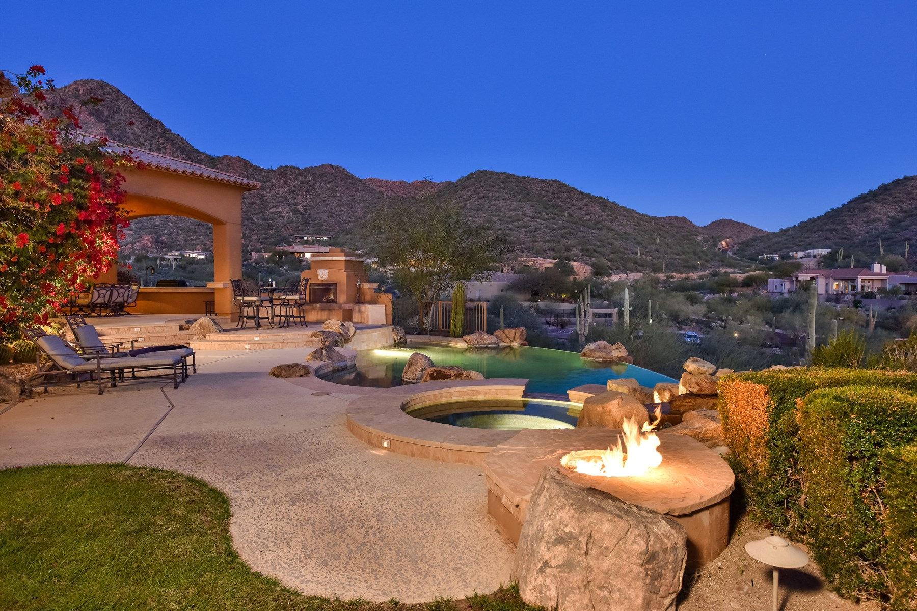 sales property at Stunning Scottsdale Mountain Custom with Views